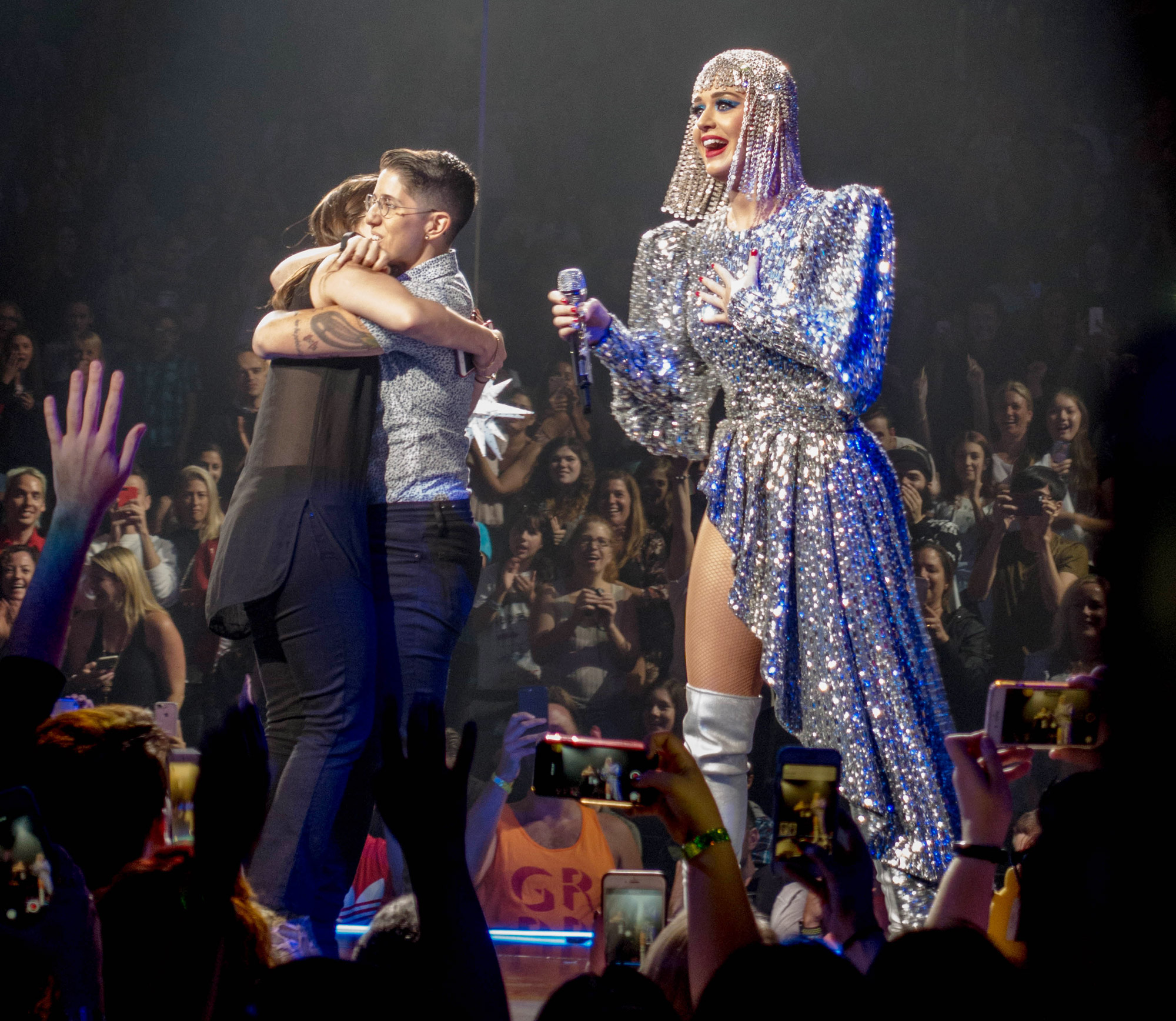 Katy Perry Helped a Woman Propose to Her Girlfriend on Stage