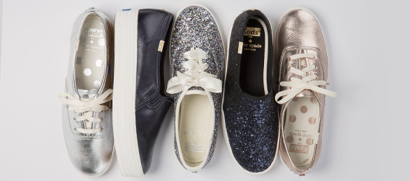 75effe93a3e7d The Keds x Kate Spade Holiday Collection Makes Its Debut