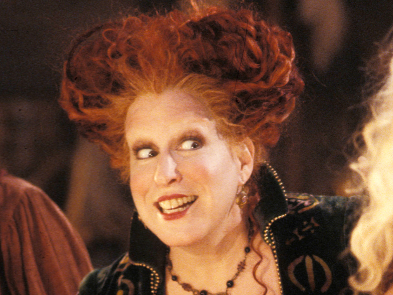 Winifred Sanderson from Hocus Pocus