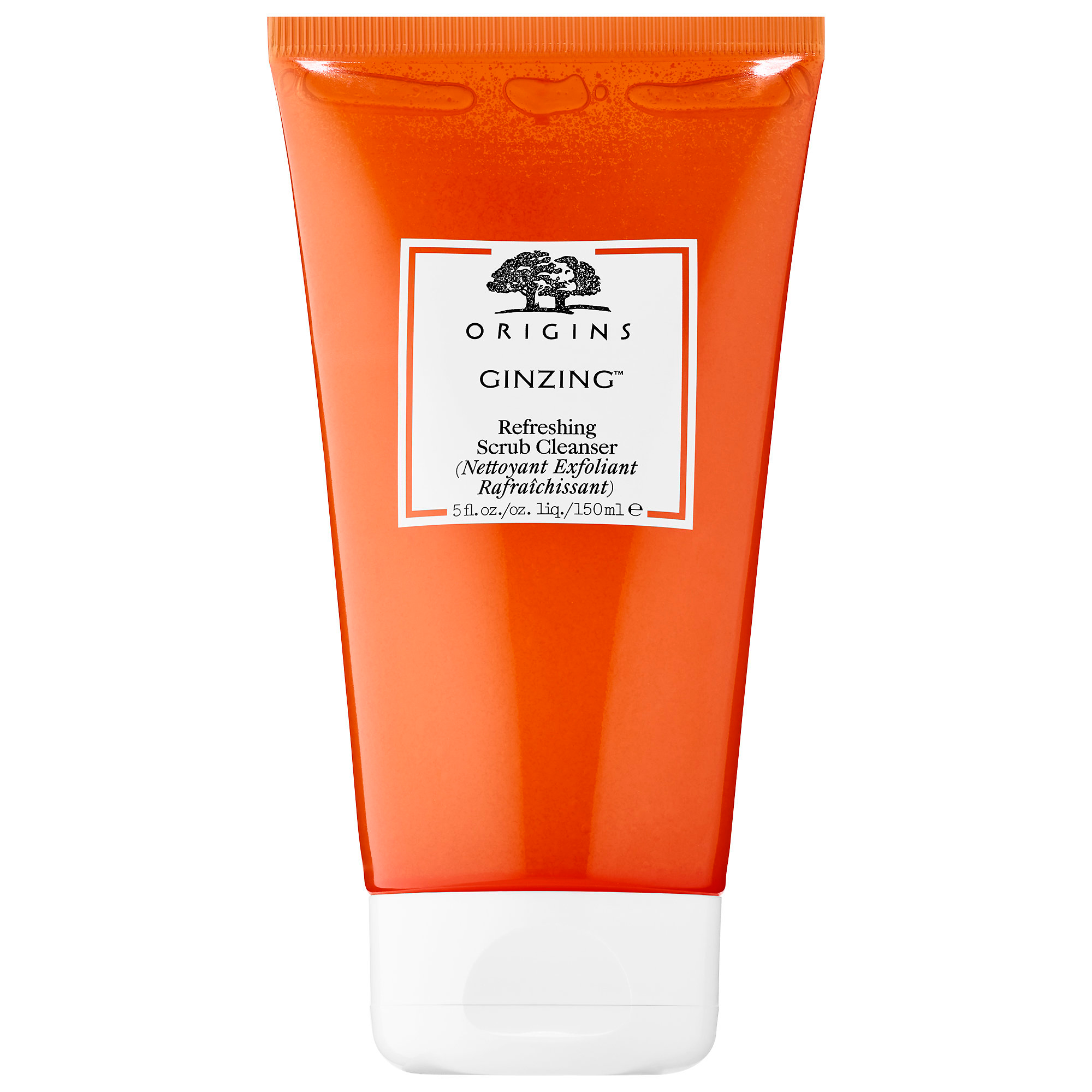 Best Exfoliator for Brightening: ORIGINS GinZing Refreshing Scrub Cleanser