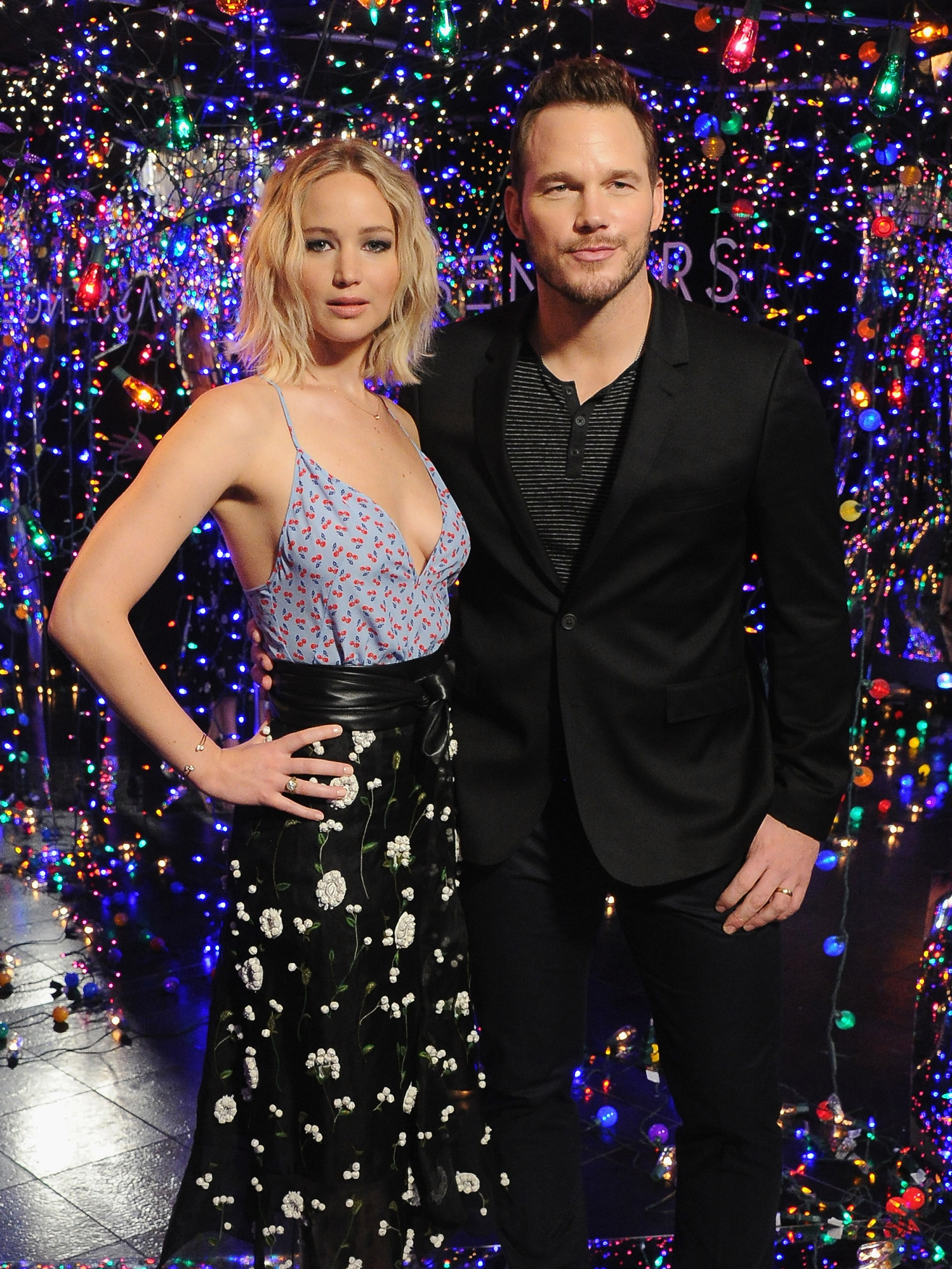 Jennifer Lawrence Chris Pratt - embed