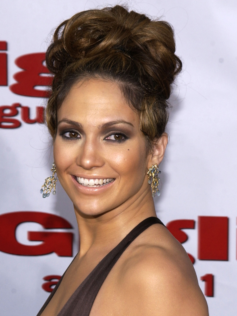 <p>2003: Curly Updo</p>