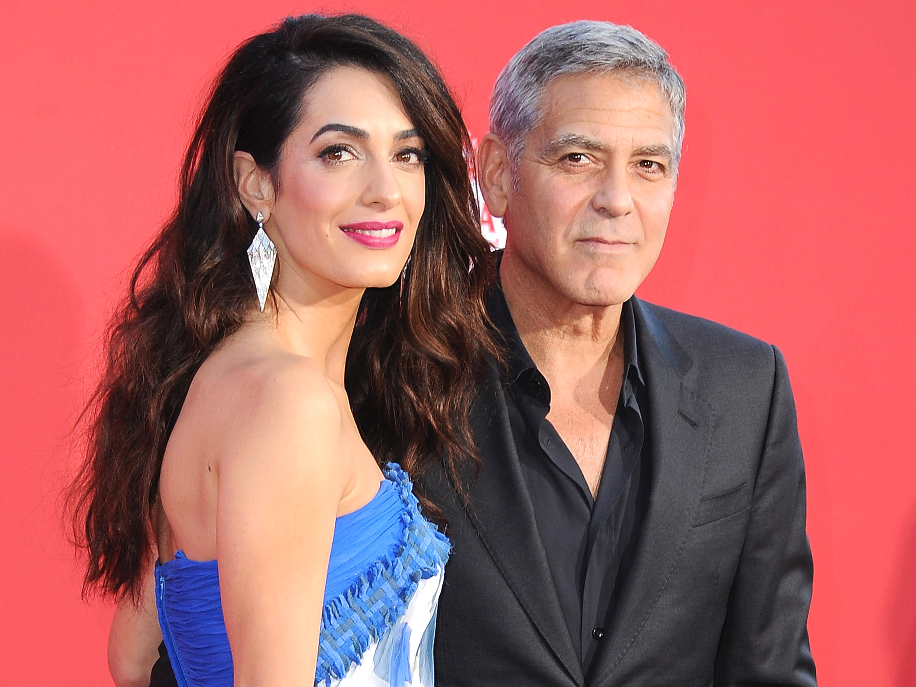 <p>George and Amal Clooney's Twins</p>