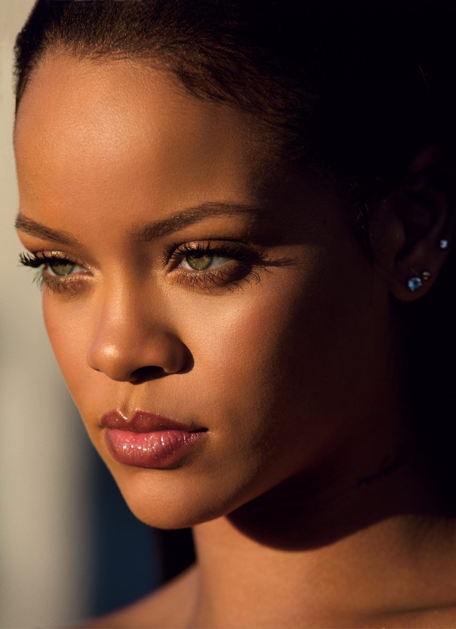 Rihanna Reveals The Inspiration Behind Her Makeup Line And How She Gets Her Skin To Glow