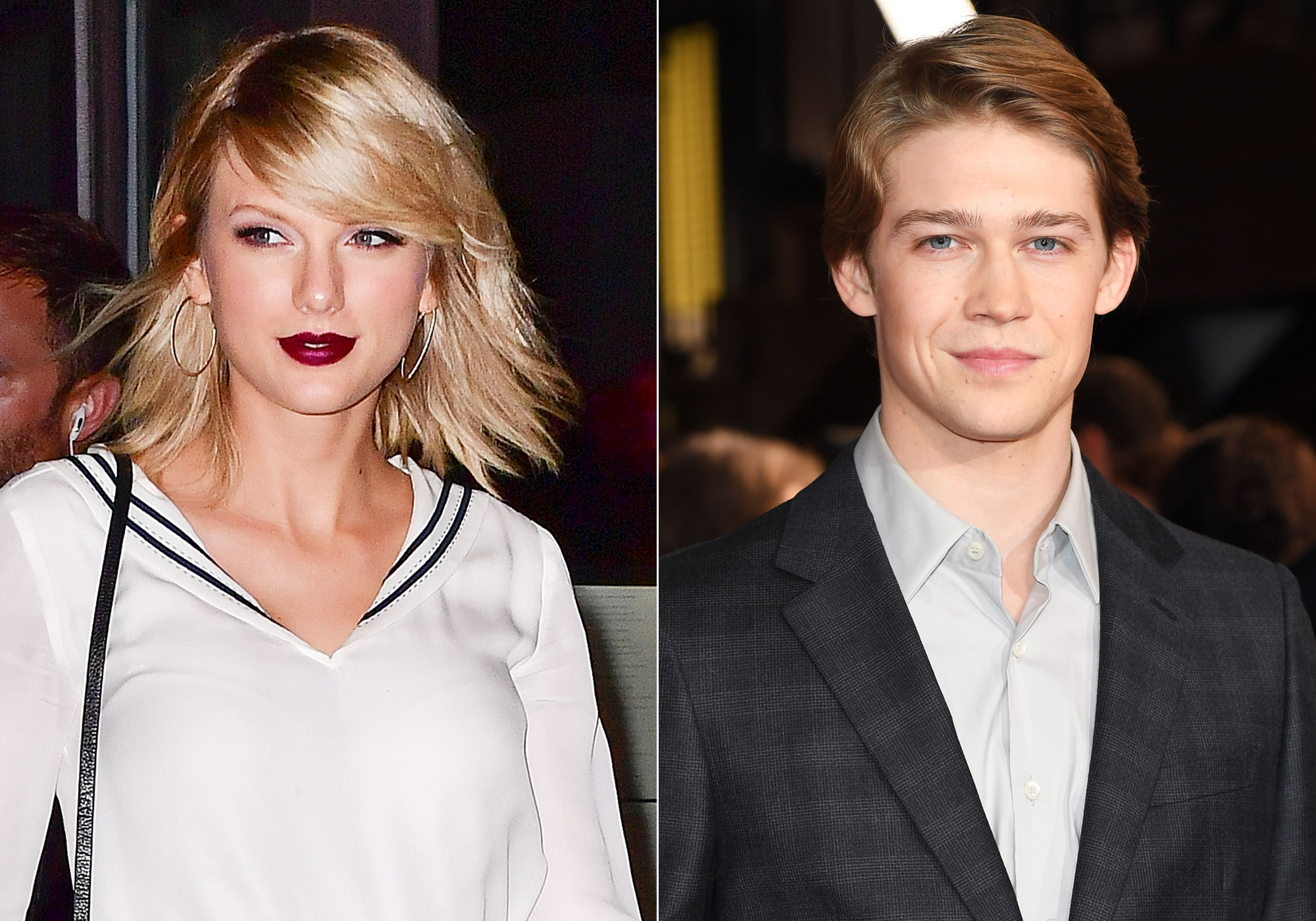 Taylor Swift and Joe Alwyn go hand-in-hand in public