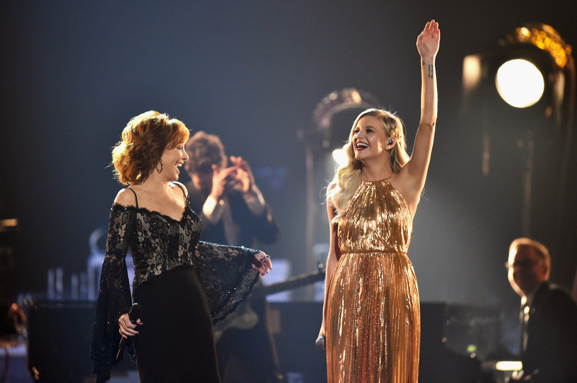 <p>Reba and Kelsea Ballerini LEAD</p>