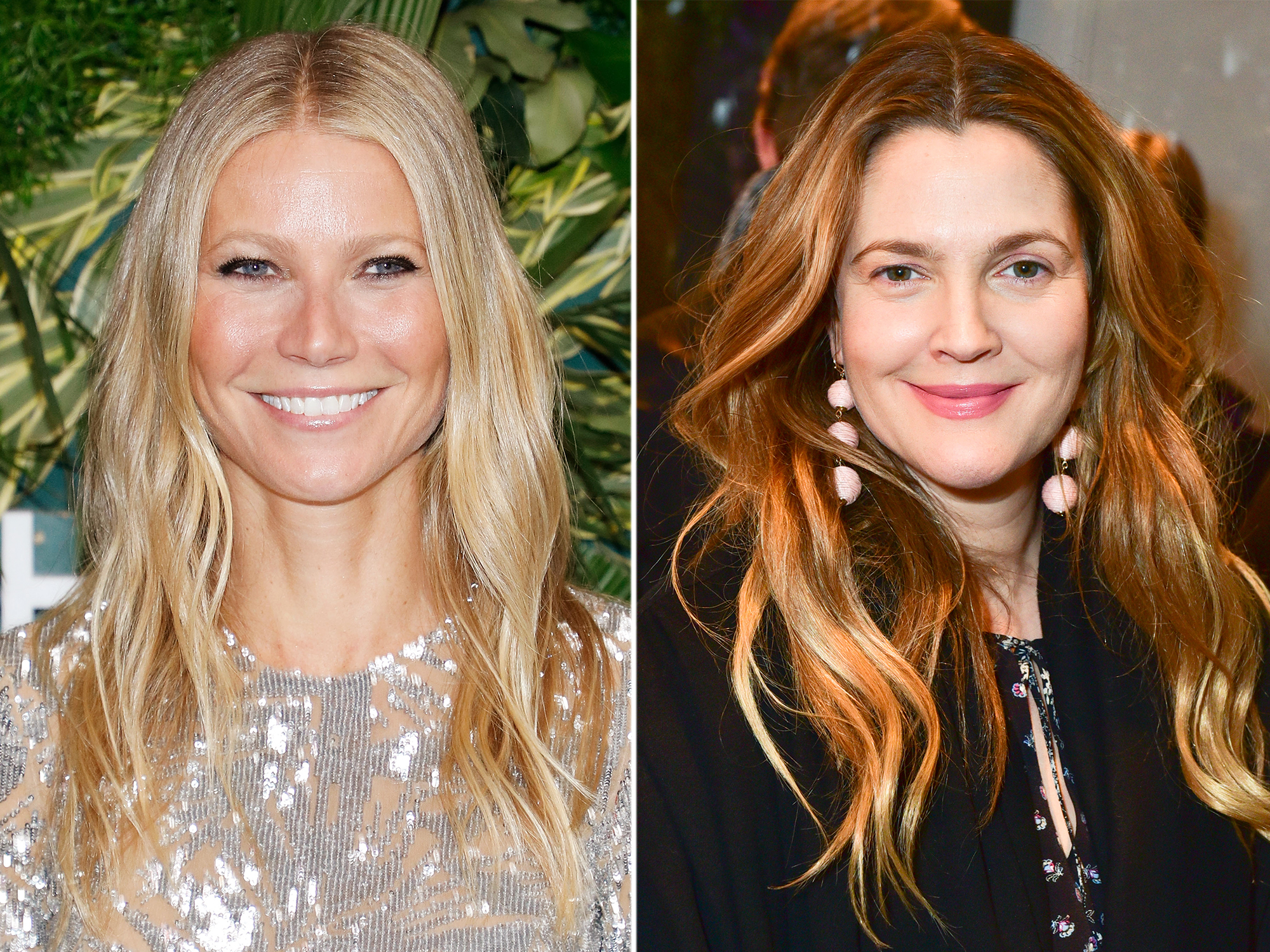 <p>Gwyneth Paltrow and Drew Barrymore</p>