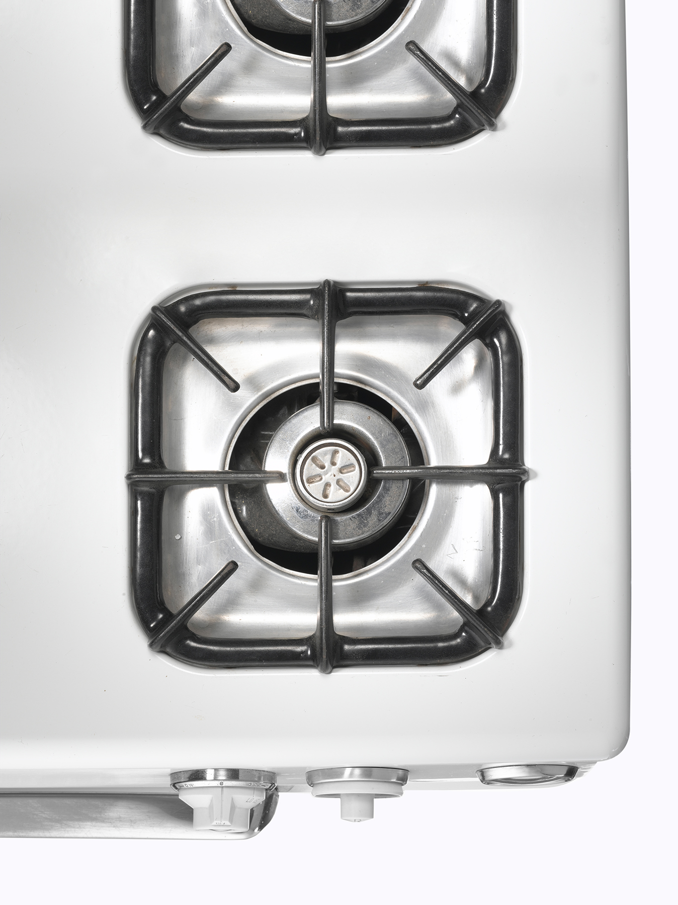 Stove burner, close up