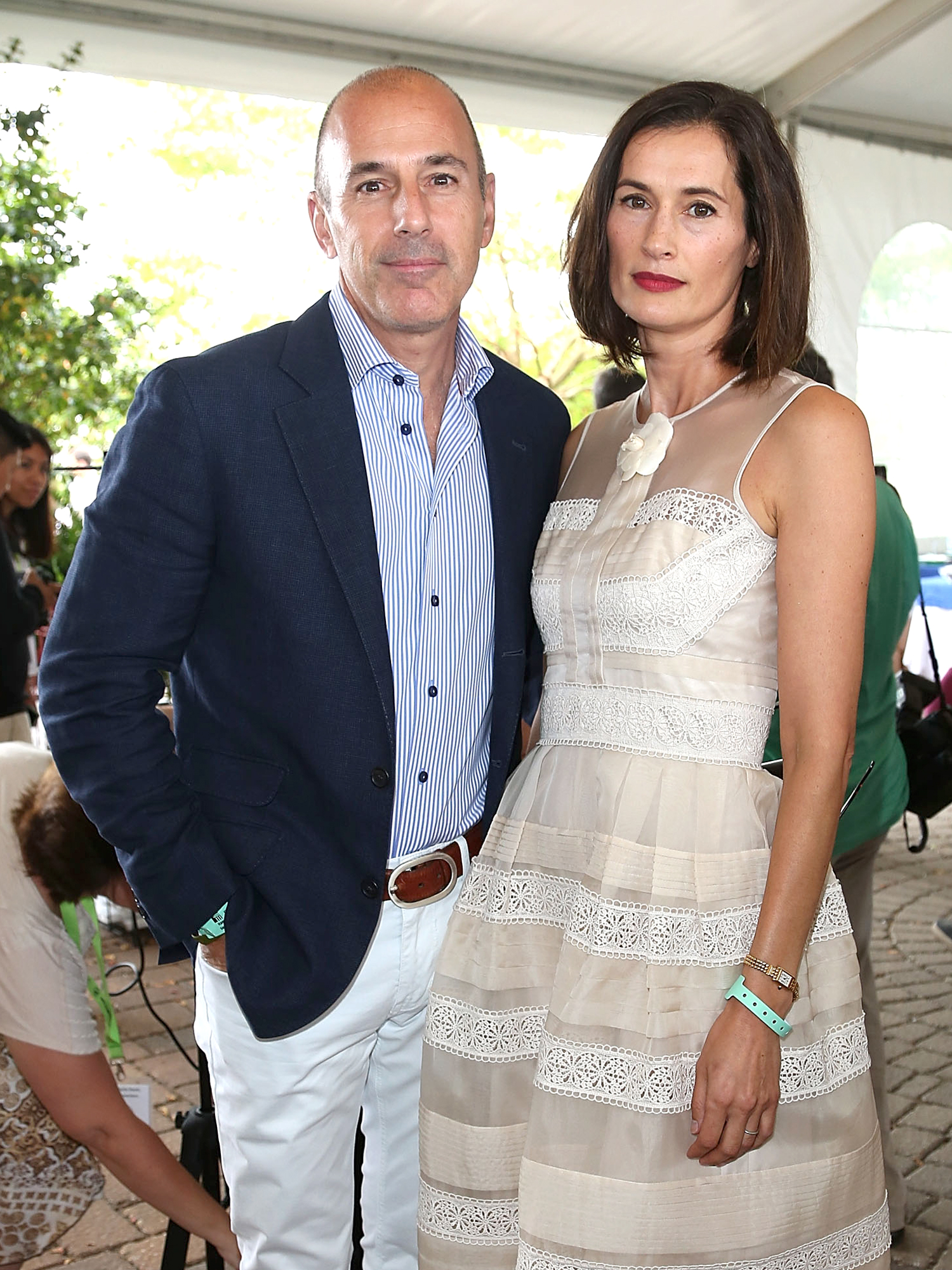 "Matt Lauer ""Regularly Cheated On"" His Wife but Misconduct Allegations Are a Shock, Sources Say"