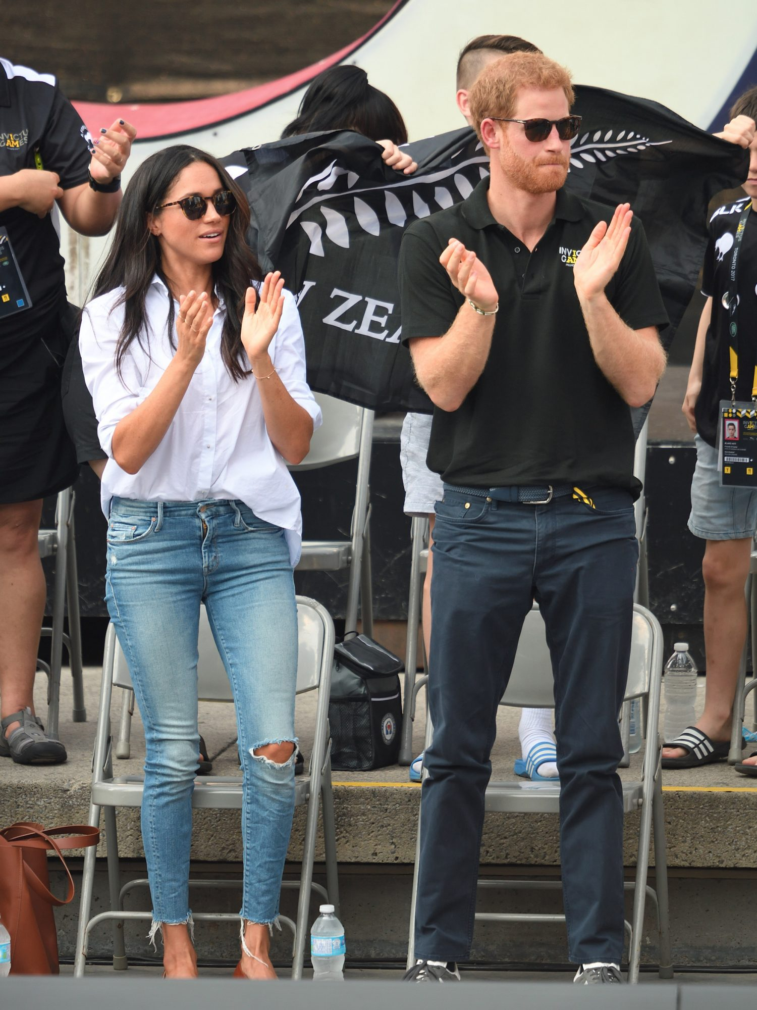 Meghan Markle's Exact Mother Jeans Are Finally Back in Stock