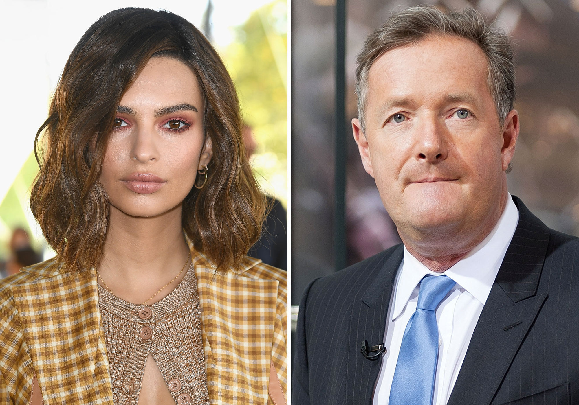 Emily Ratajkowski Claps Back at Piers Morgan for His Comments About Her <em>Love</em> Advent Video