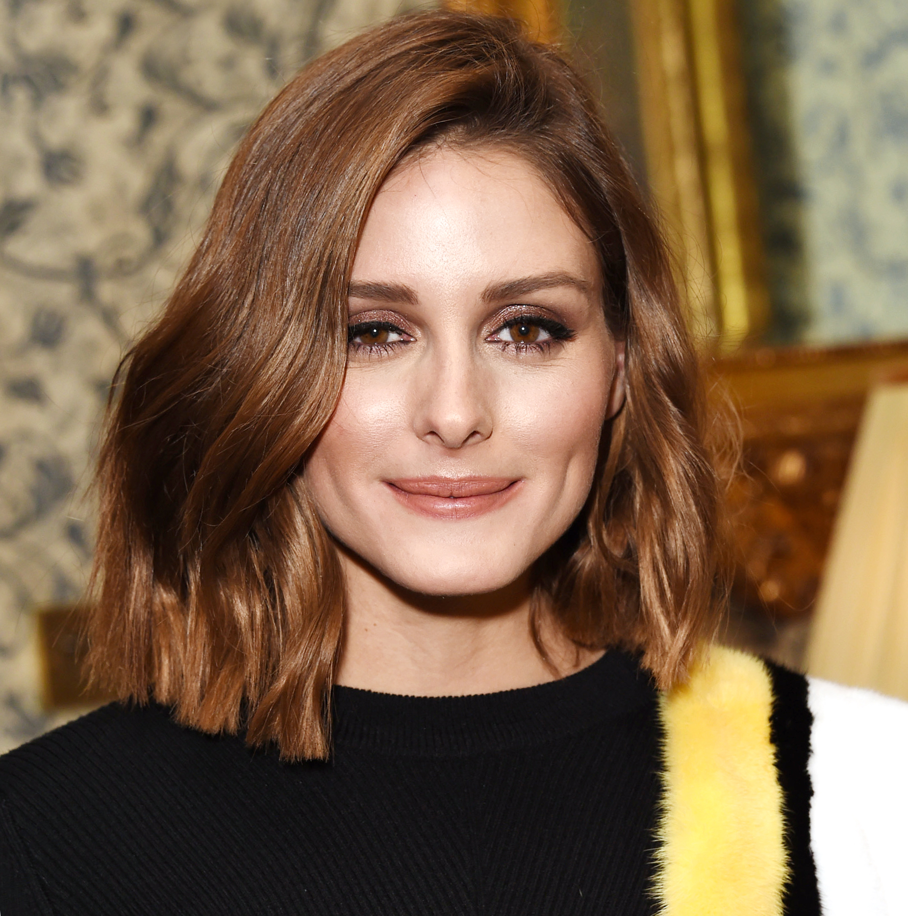 See Olivia Palermo S New Brown Hair Instyle Com