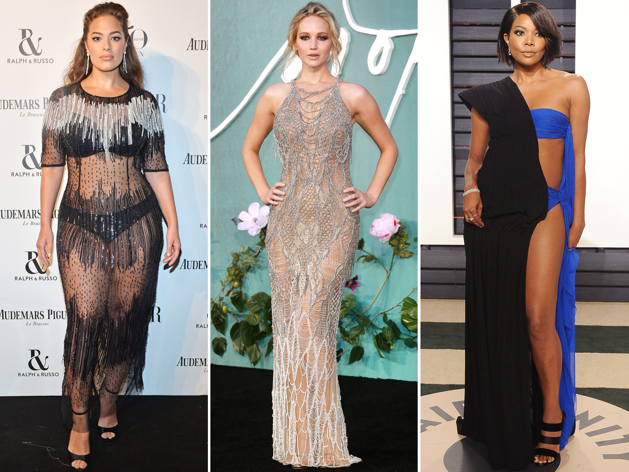 The Most Naked Fashion Moments of 2017