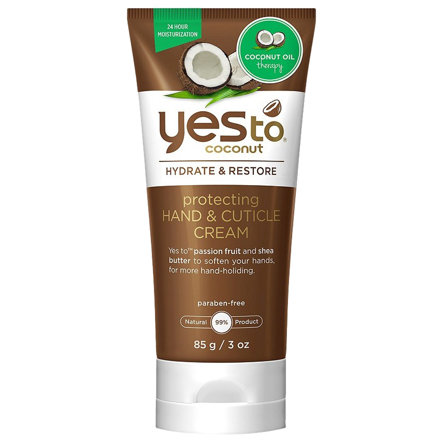 <p>Yes to Coconut Protecting Hand and Cuticle Cream</p>