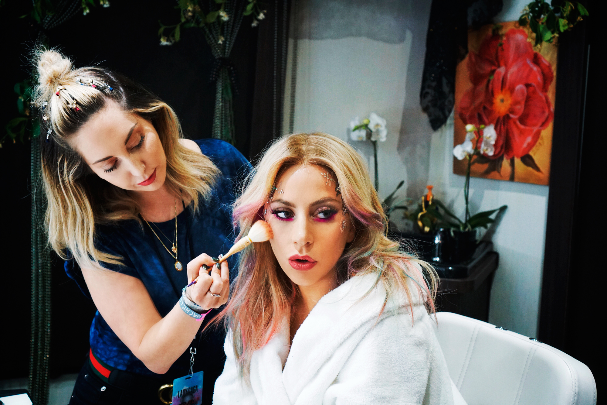 Lady Gaga's Makeup Artist Swears By This Lip Crayon to Stay Smudge-Free on Stage