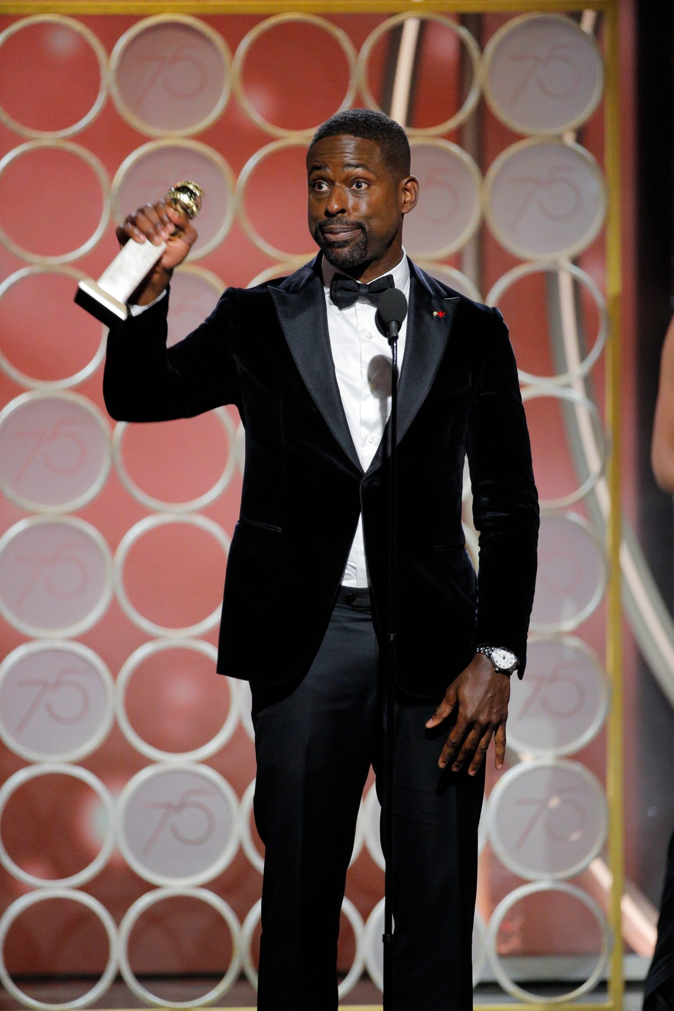 Sterling K. Brown Makes Golden Globes History as First Black Actor to Win TV Drama Award