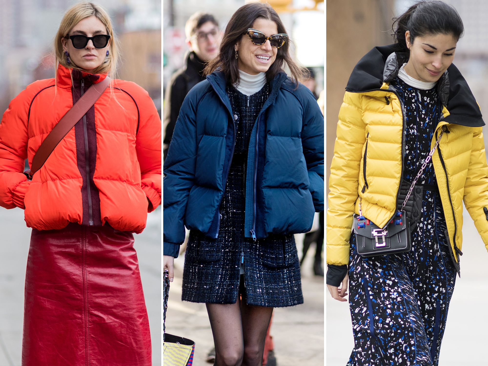 3 Cute Puffer Pairings Inspired By Street Style Stars