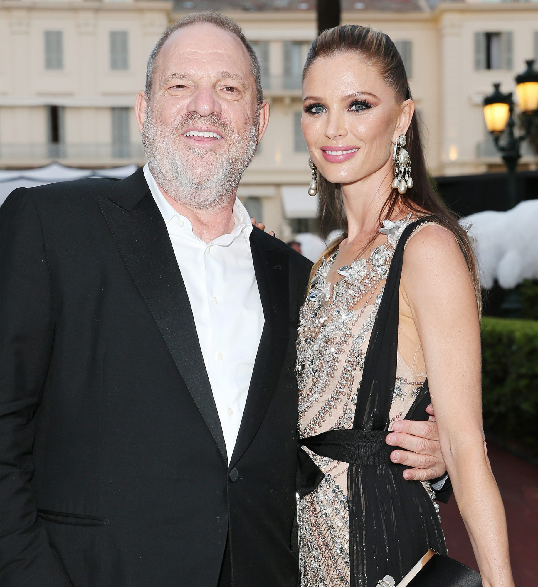 <p>Harvey Weinstein Georgina Chapman </p>