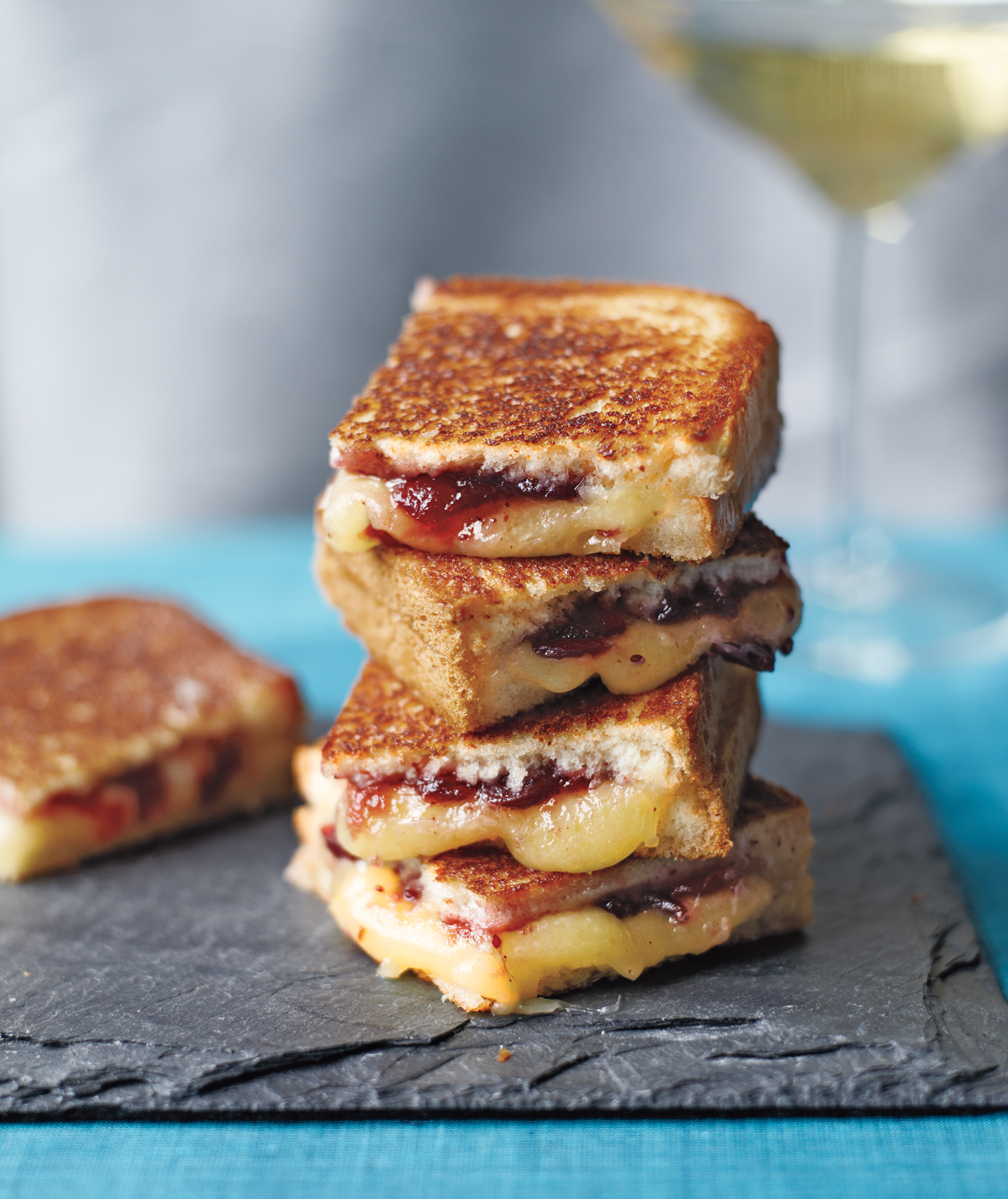 Mini Grilled Cheese Sandwiches