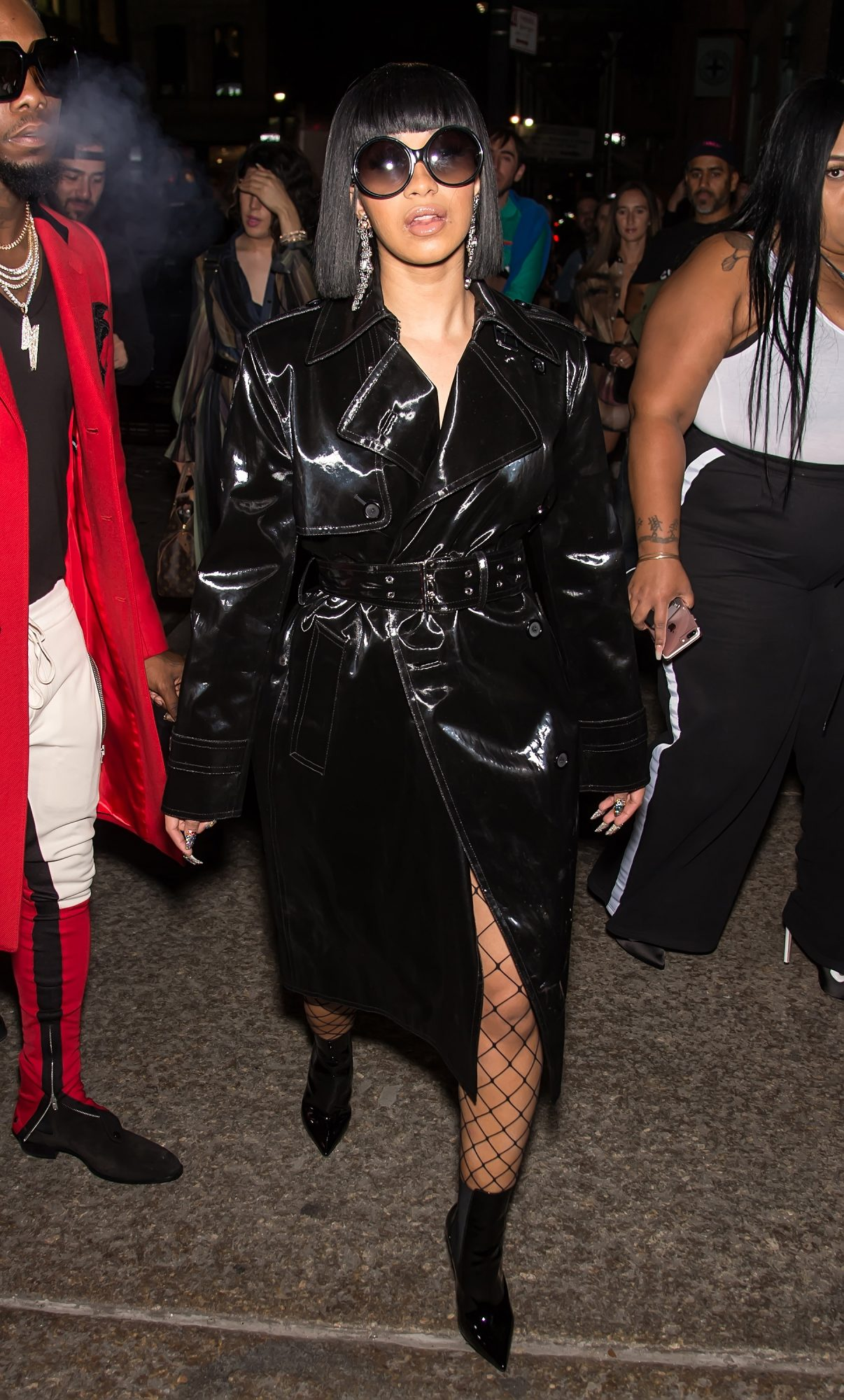 <p>Fishnets and Patent Leather</p>