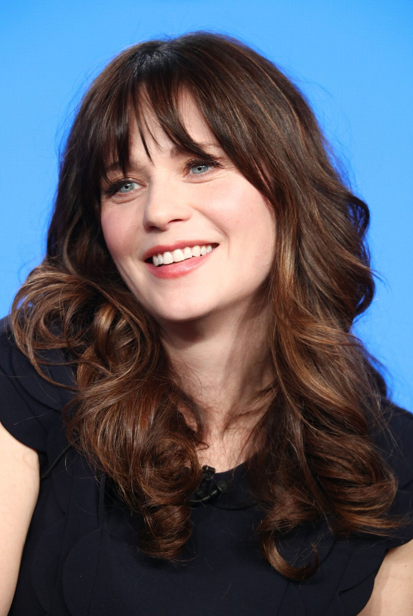 <p>Zooey Deschanel </p>