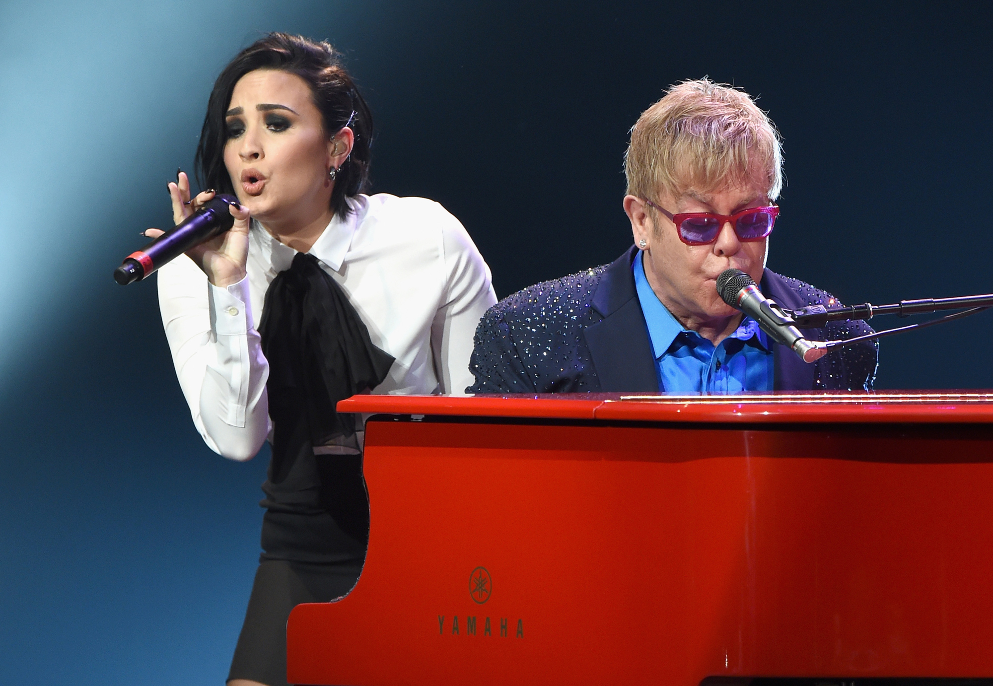 Demi Lovato and Elton John - Embed