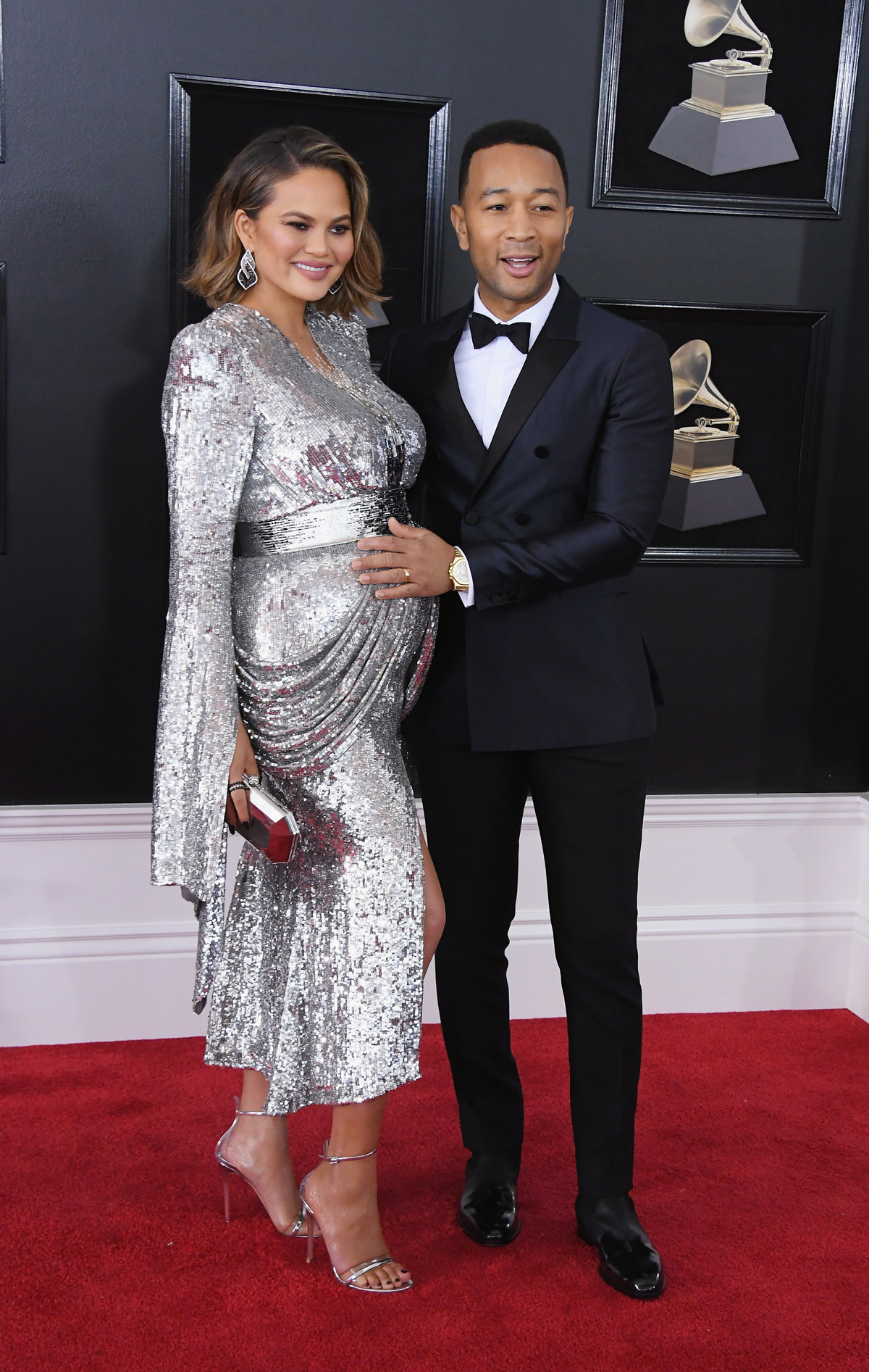 <p>Chrissy Teigen, John Legend</p>