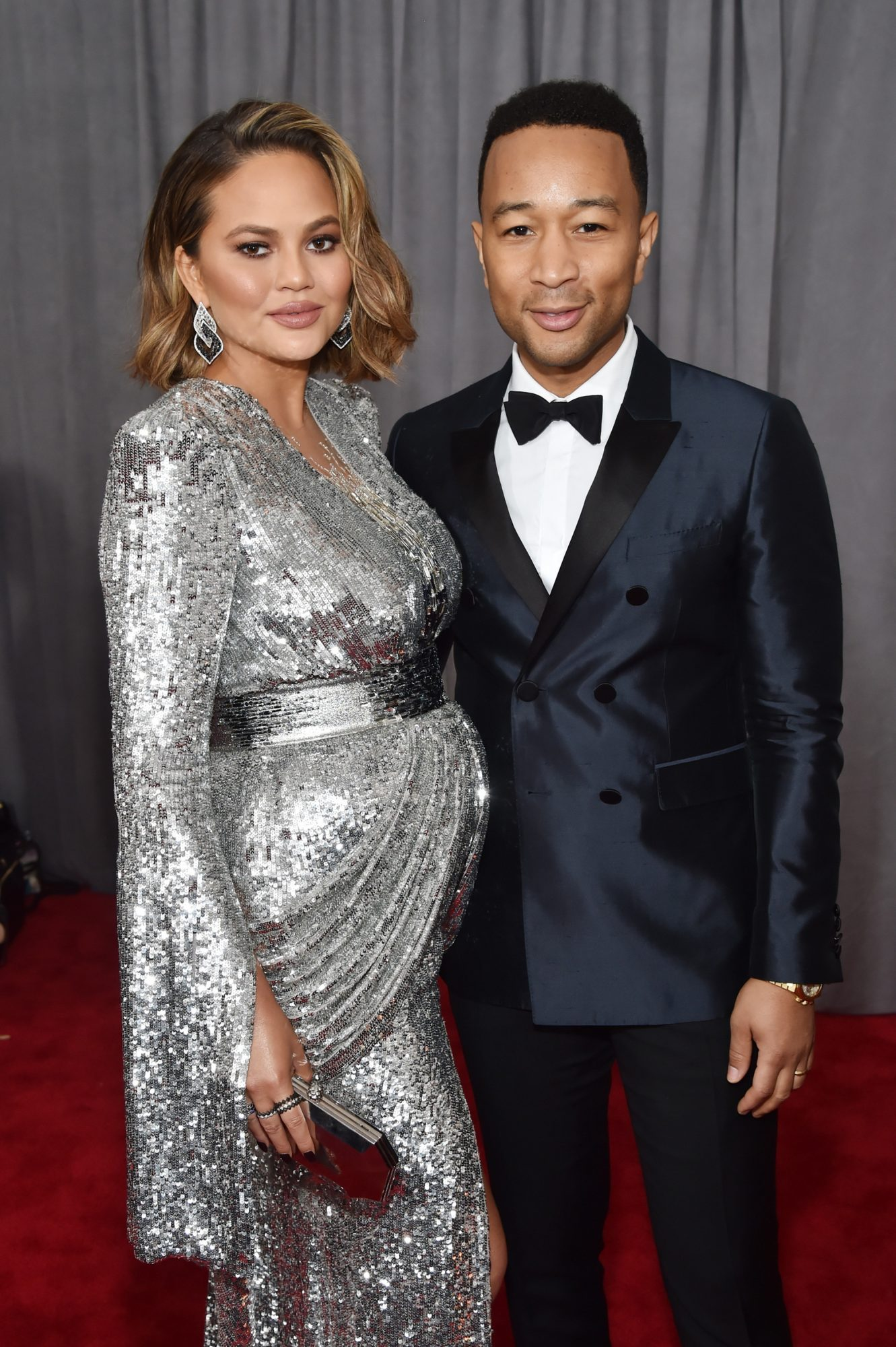 <p>Chrissy Tiegan, John Legend</p>