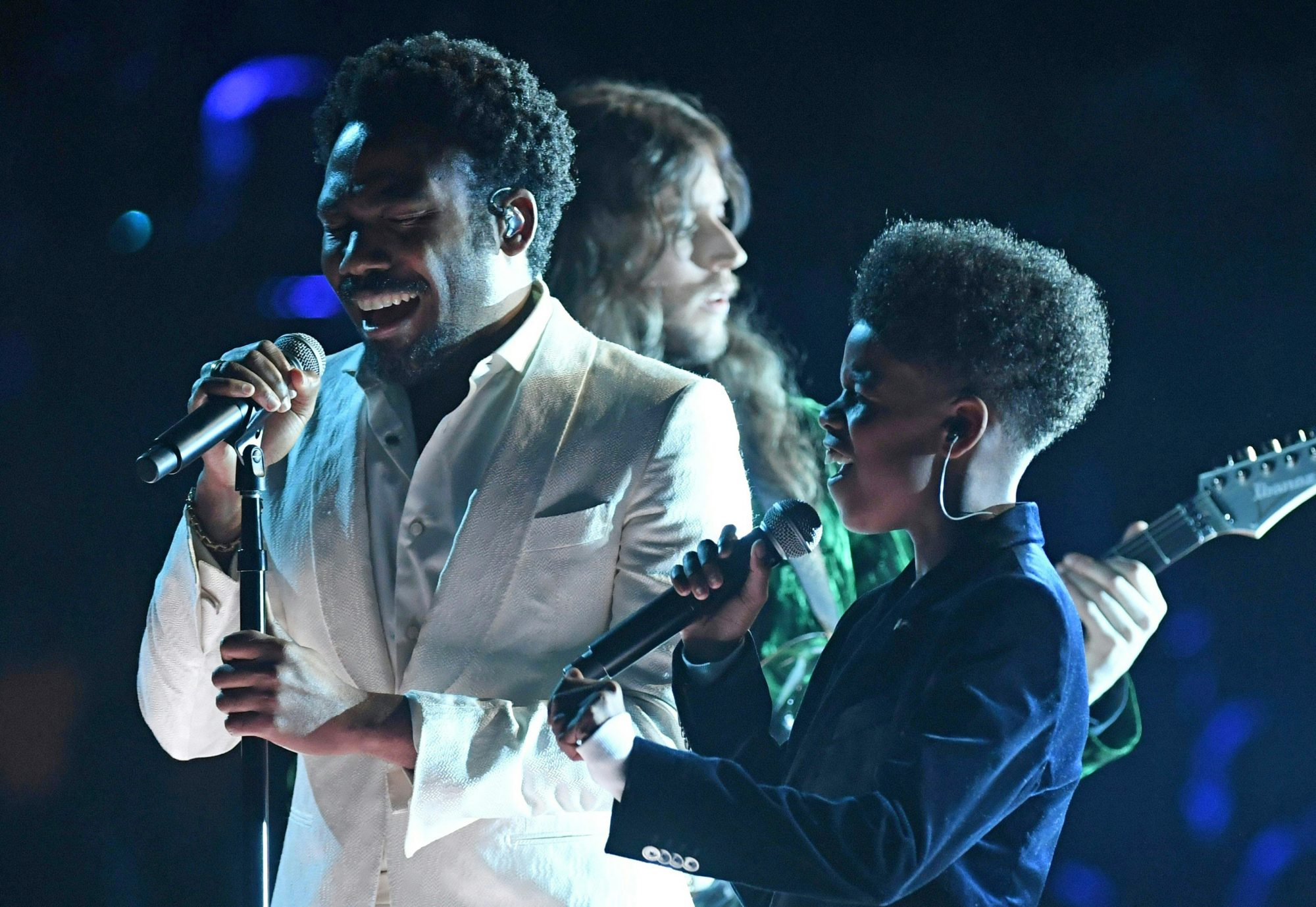 There's a <em>Lion King</em> Connection Between Childish Gambino and the Boy He Sang with at the Grammys