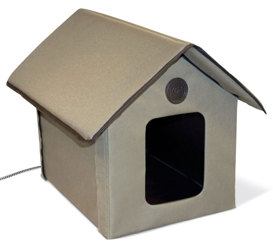 <p>OUTDOOR HEATED CAT HOUSE</p>