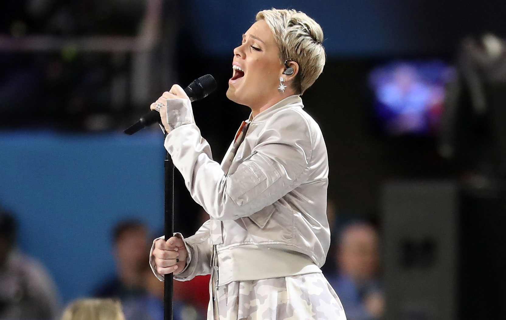Pink Super Bowl National Anthem