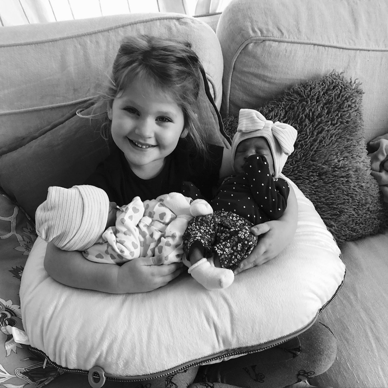 Lady Antebellum's Hillary Scott Introduces Her Newborn Twins with a Sweet Photo