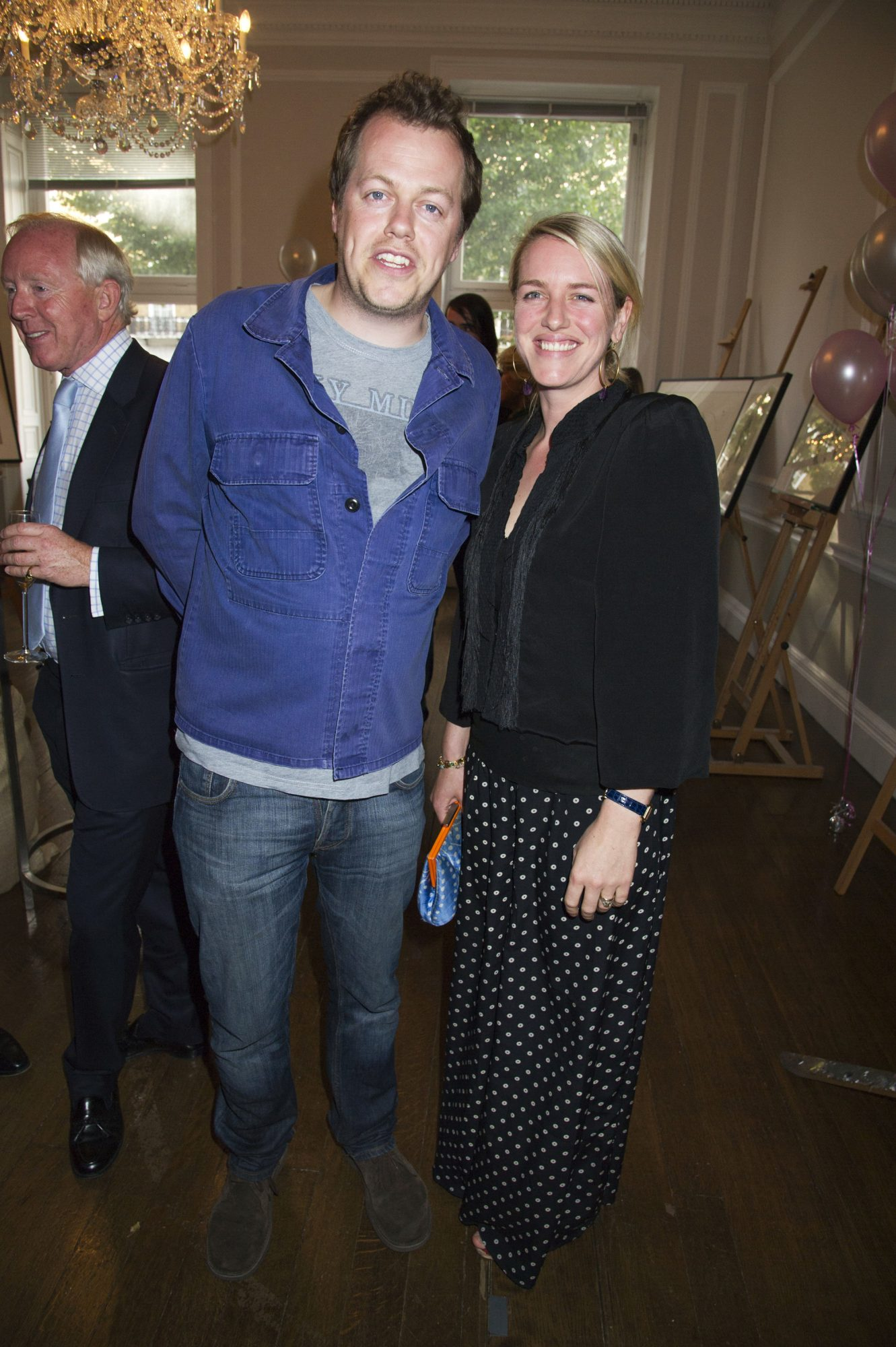 Tom Bowles and Laura Lopes