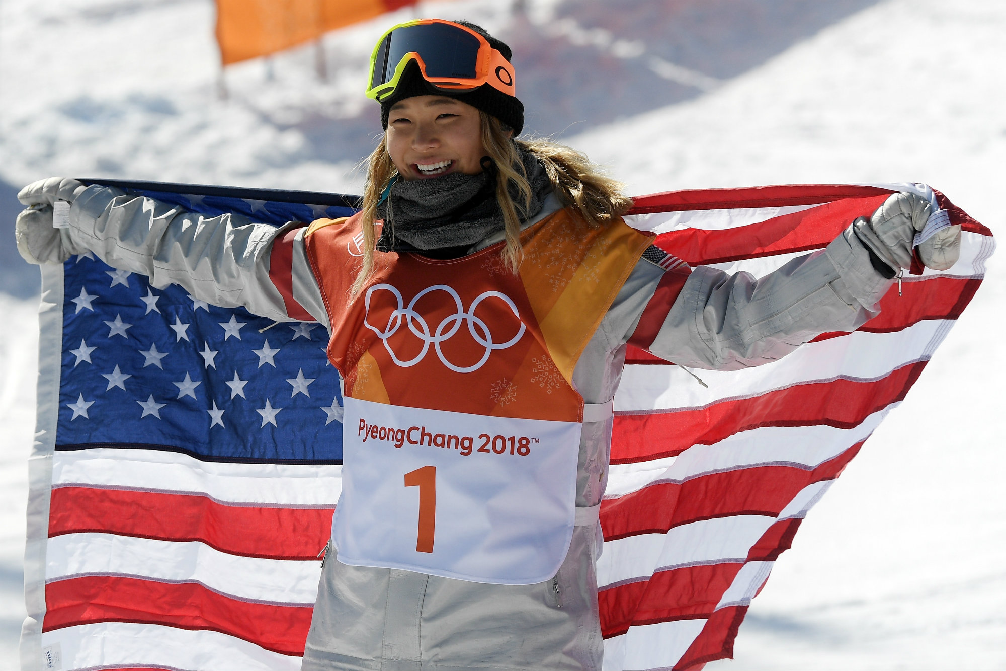 17-Year-Old Snowboarder Chloe Kim Wins a Gold Medal in 1st Olympic Event Ever