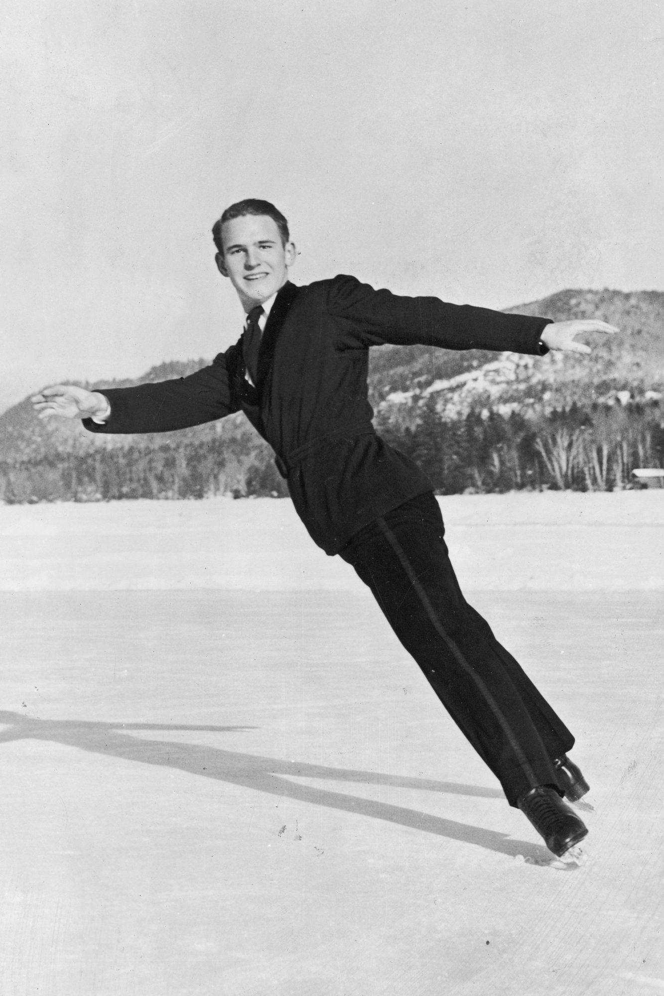 <p>Dick Button (1948 and 1952 Olympic Champion) </p>