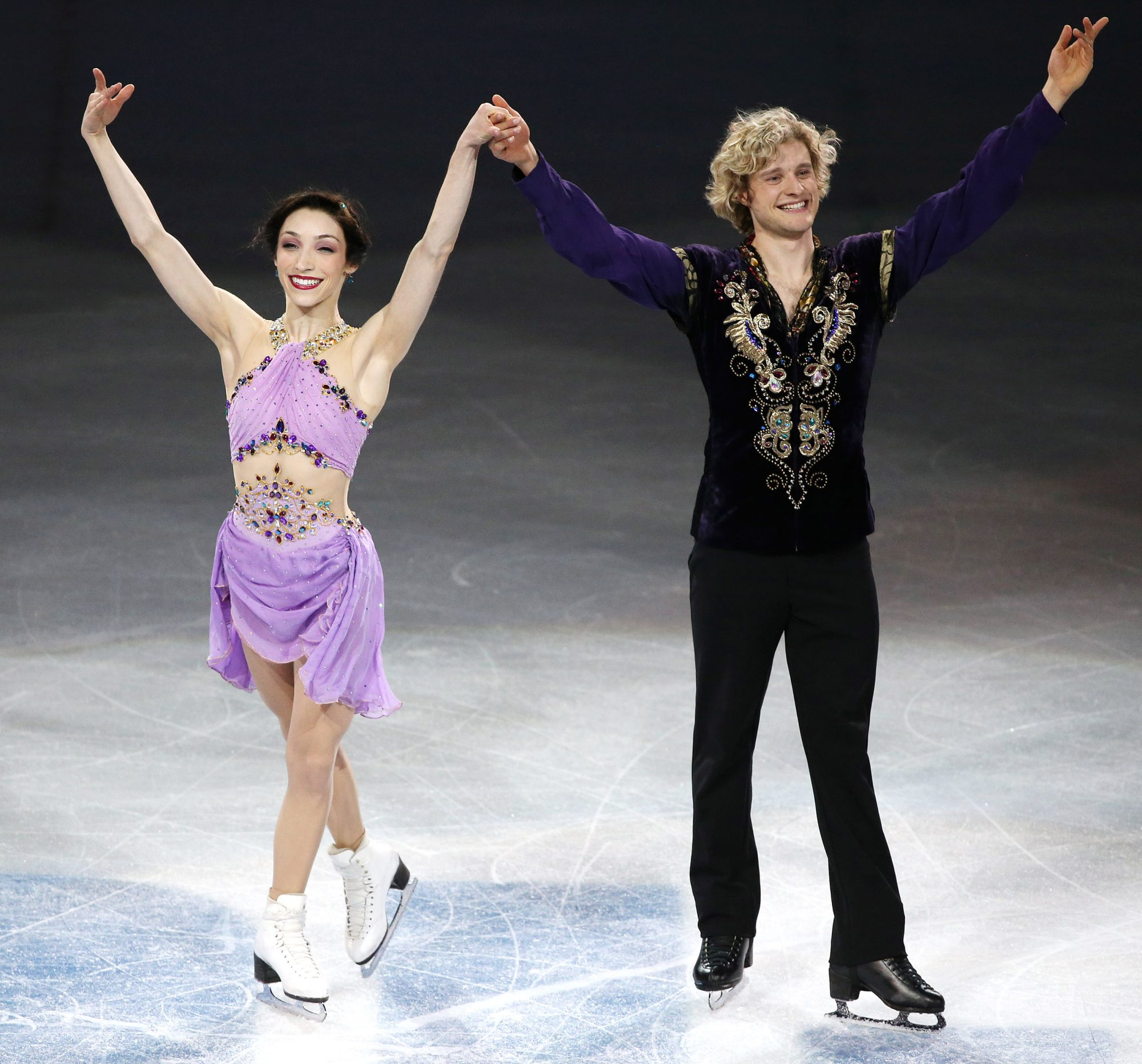 <p>Charlie White and Meryl Davis (2014 Olympic Champions) </p>
