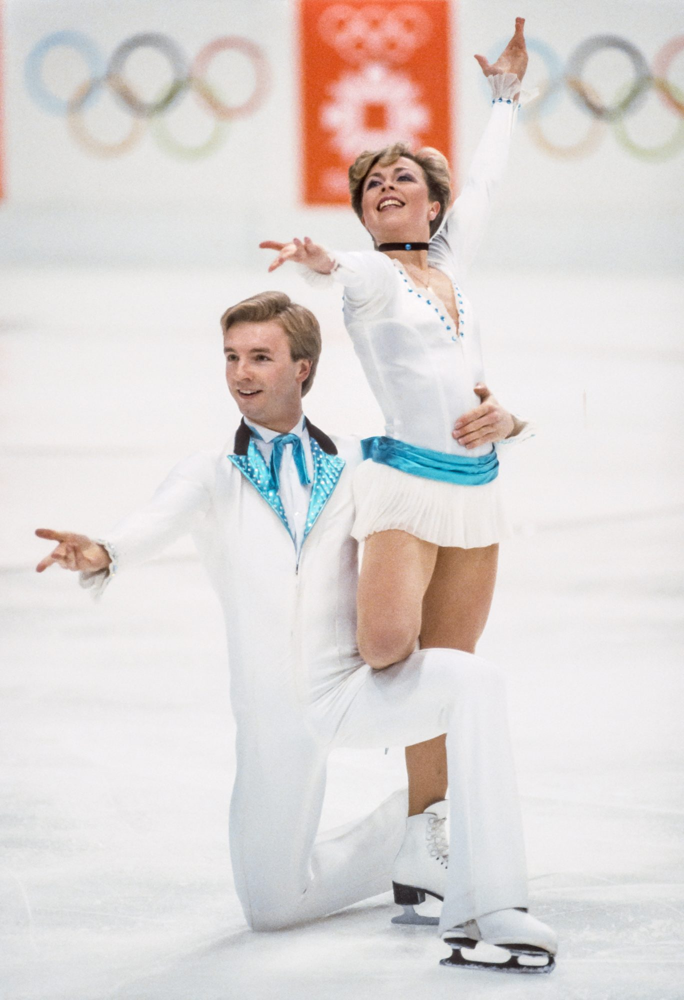 <p>Jayne Torvill and Christopher Dean (1984 Olympic Champions) </p>