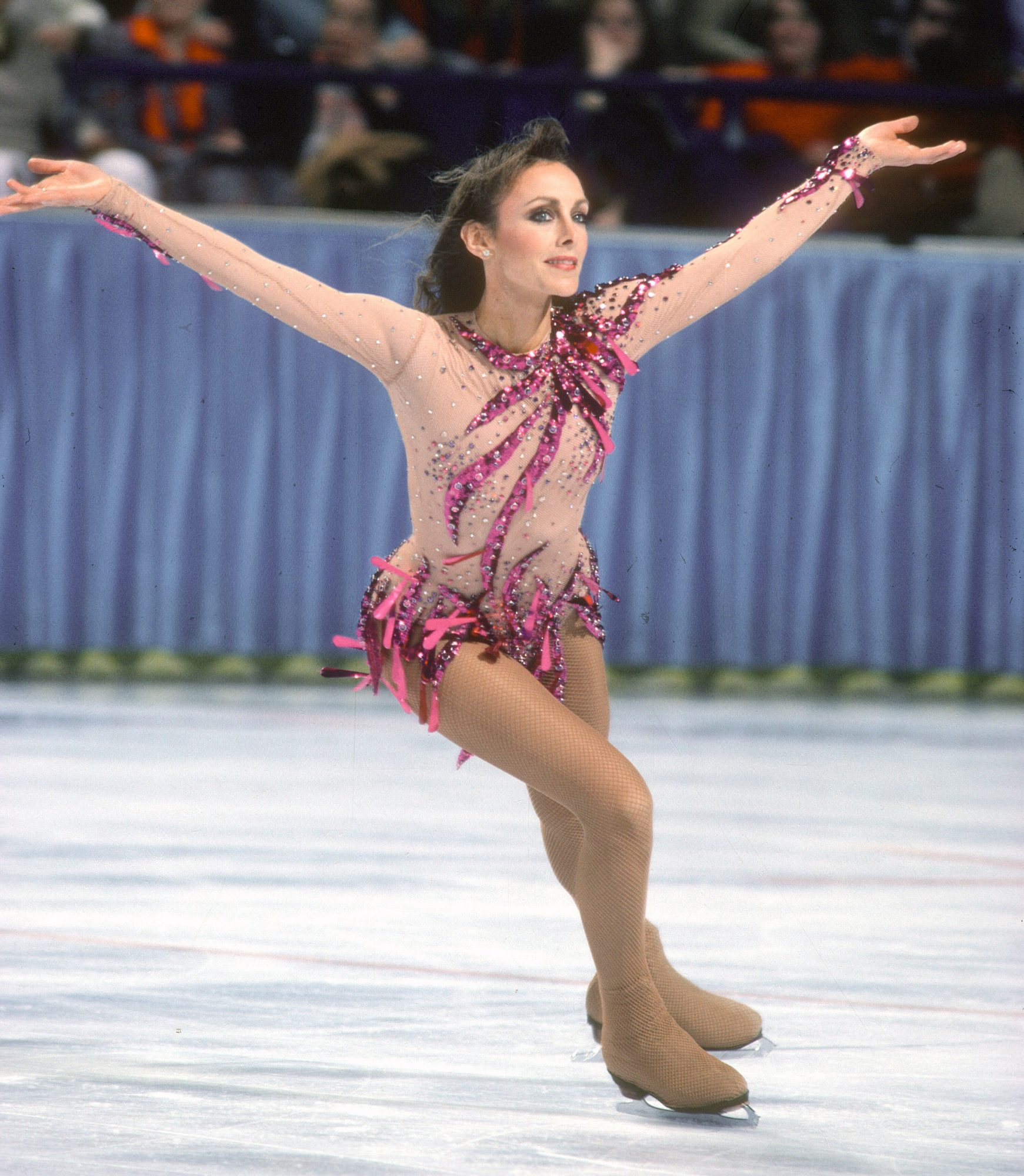 <p>Peggy Fleming (1968 Olympic Champion) </p>