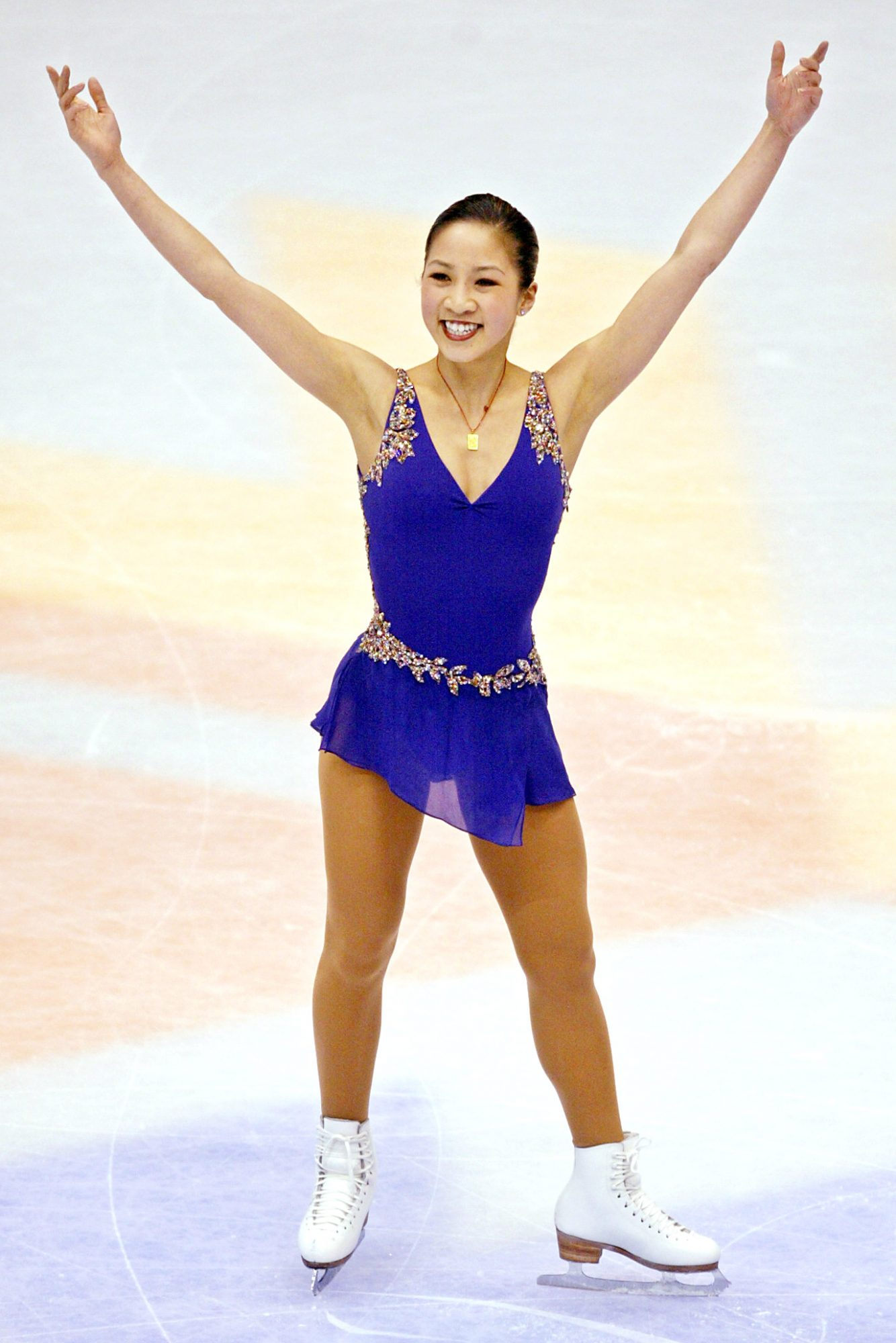 <p>Michelle Kwan (1998 Olympic Silver Medalist, 2002 Olympic Bronze Medalist) </p>