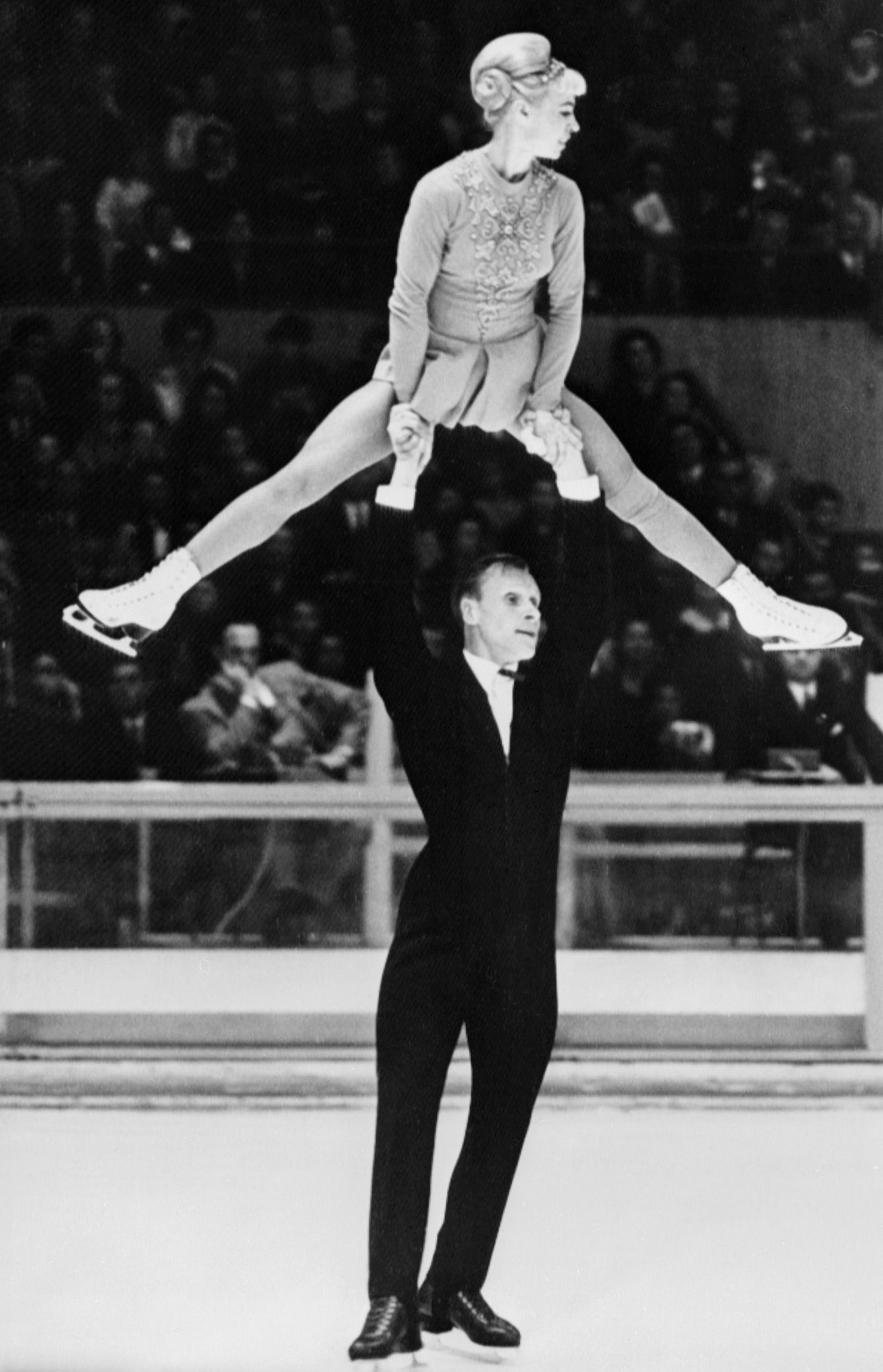 <p>Oleg and Ludmila Protopopov (1968 and 1964 Olympic Champions)</p>