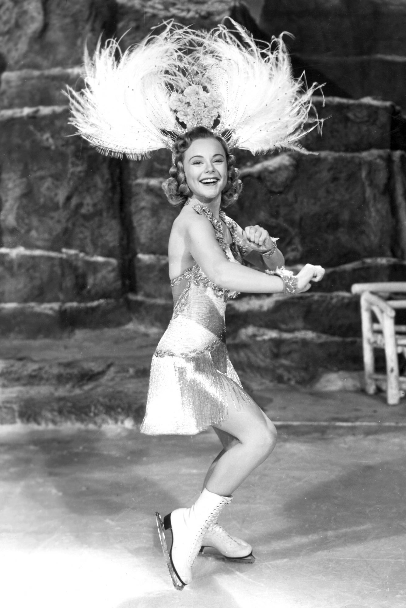 <p>Sonja Henie (1928, 1932, and 1936 Olympic Champion) </p>