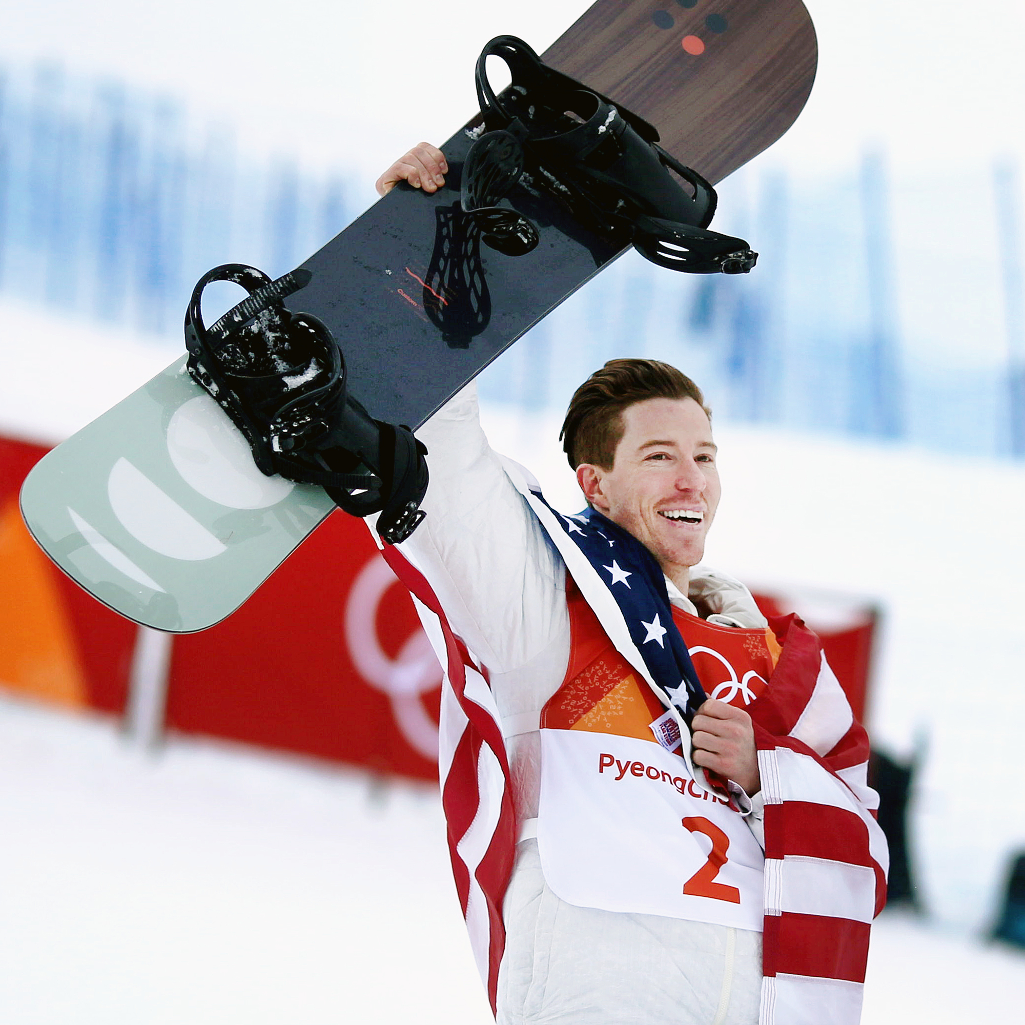 Watch Shaun White Cry Tears of Joy After Winning His Record-Breaking Gold Medal