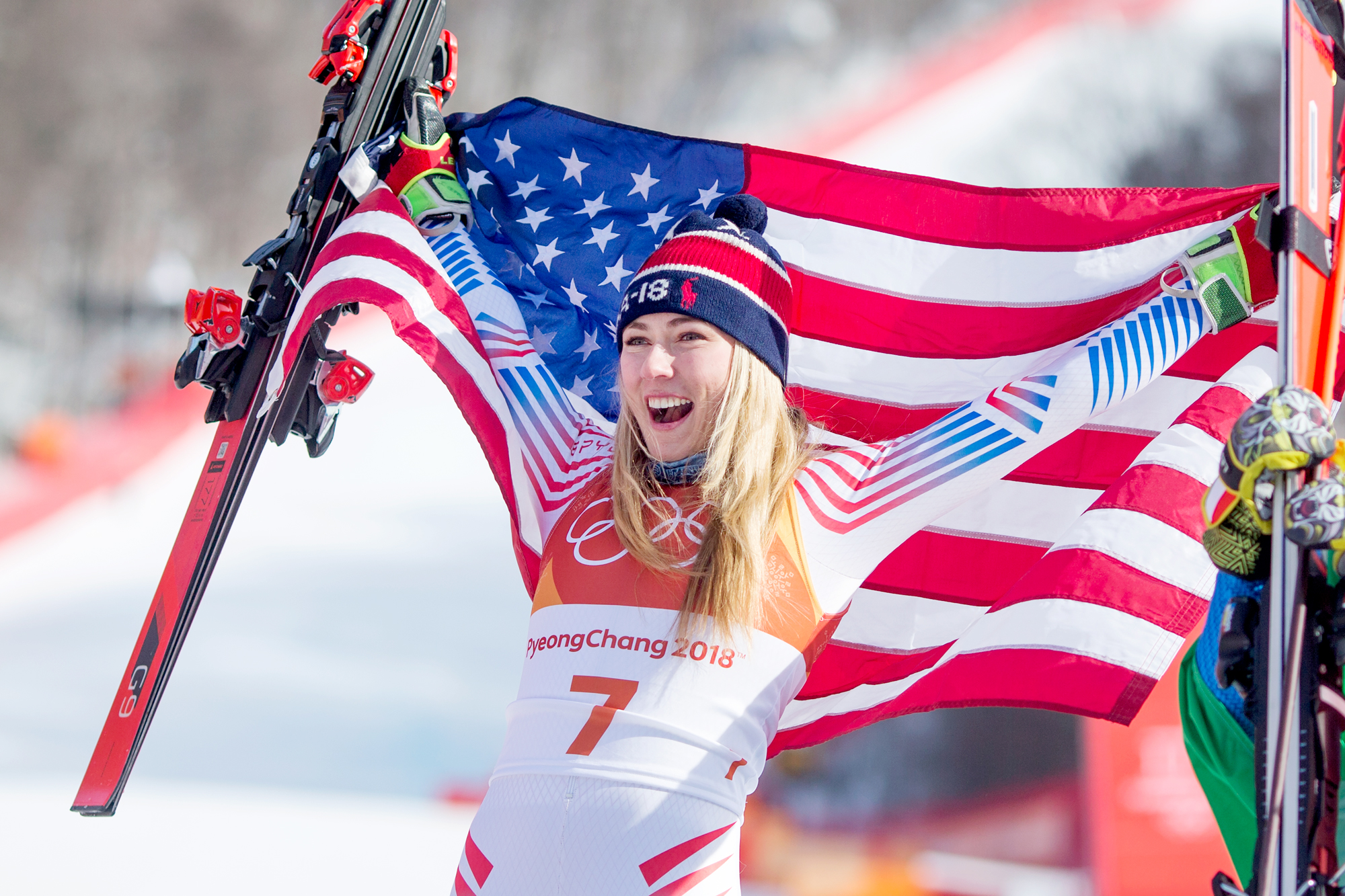 Mikaela Shiffrin Kicks Off Her Arrival at 2018 Winter Olympics with Gold