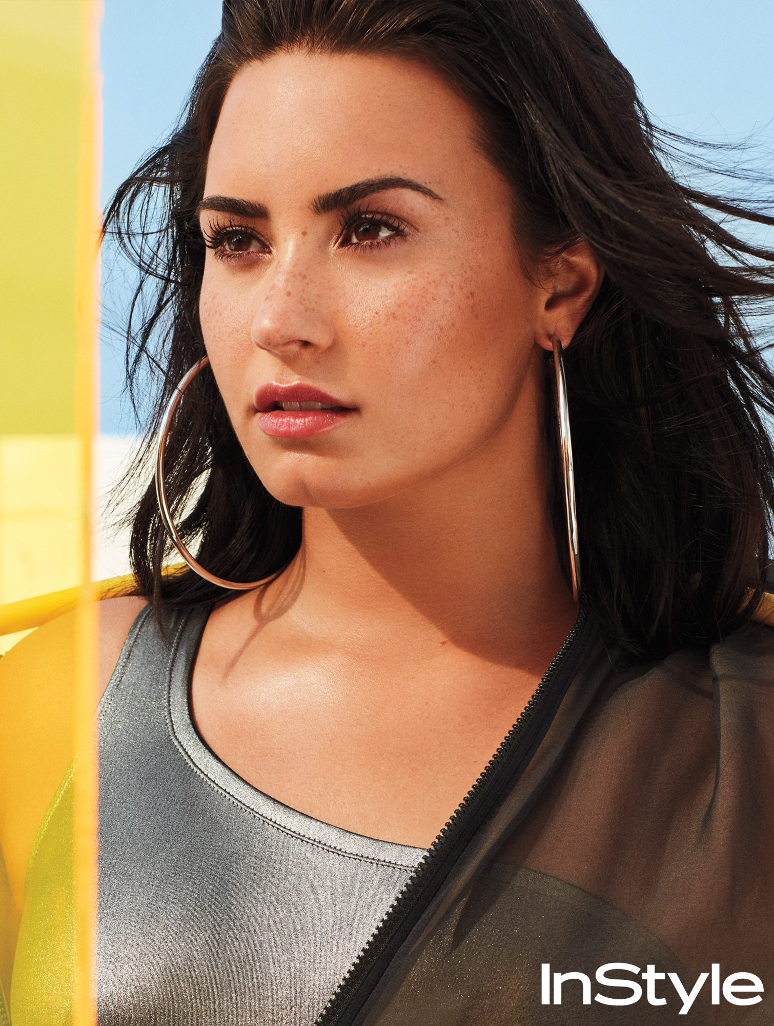 InStyle April - Demi Lovato