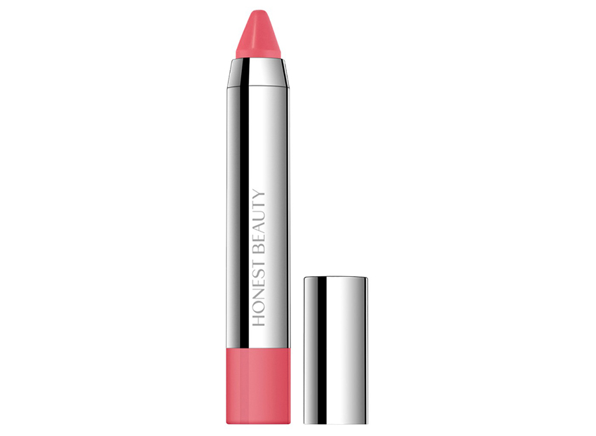<p>Honest Beauty Truly Kissable Lip Crayon in Melon Kiss</p>