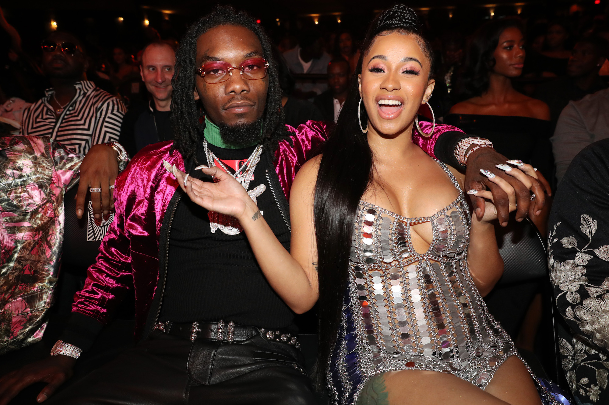 Is Cardi B S Offset Name Tattoo Real The Ink Is A Giant: Who Is Cardi B Dating?