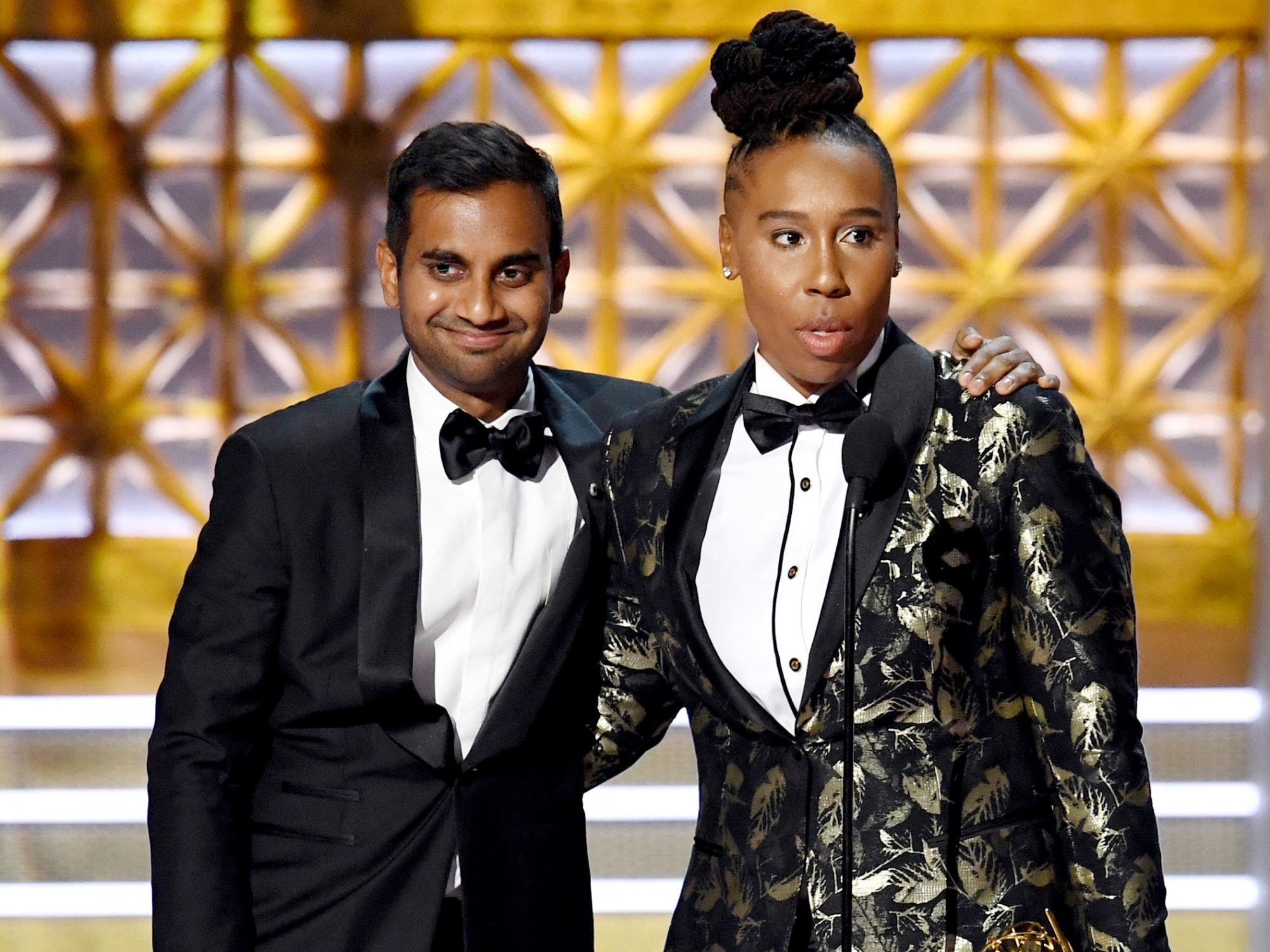 Lena Waithe Candidly Speaks About Co-Star Aziz Ansari's Sexual Misconduct Allegation
