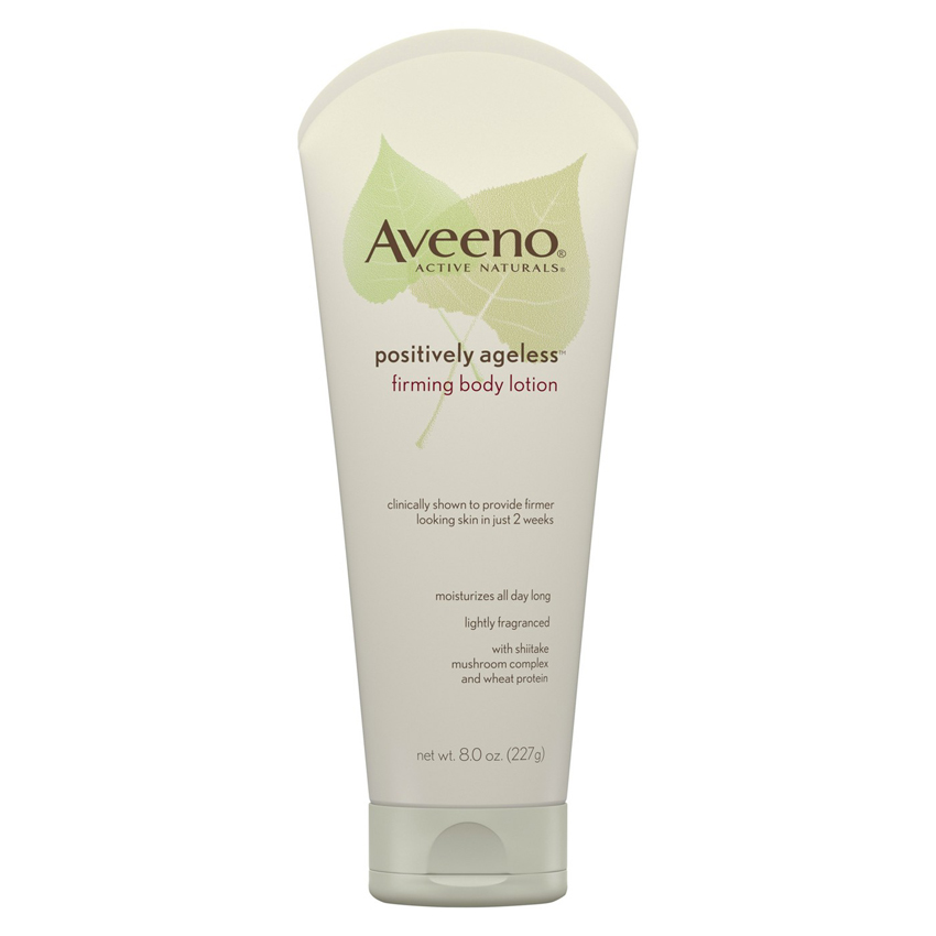 <p>Aveeno Positively Ageless Anti-Aging Firming Body Lotion</p>