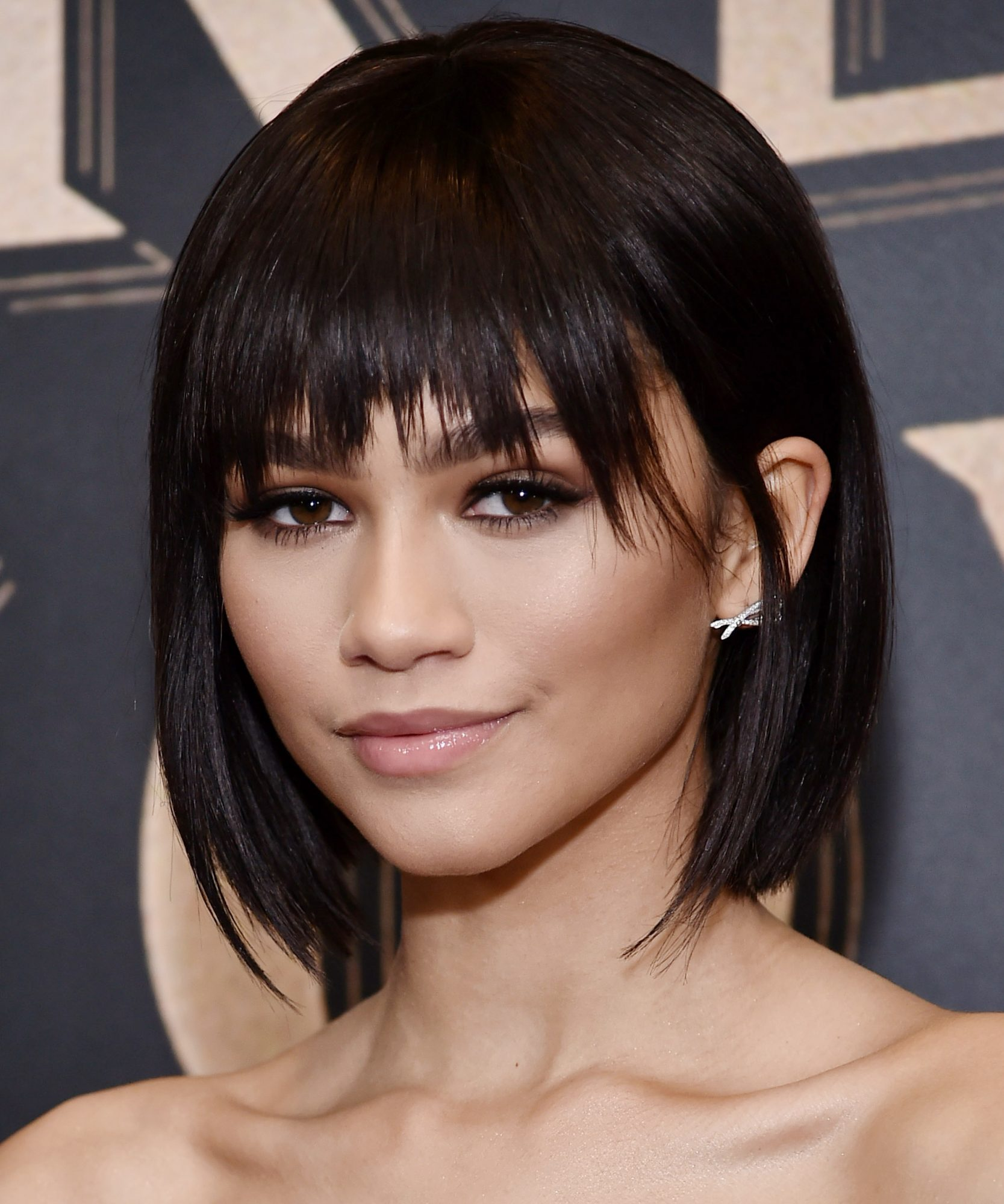 Zendaya Short Hairstyles With Bangs to Try
