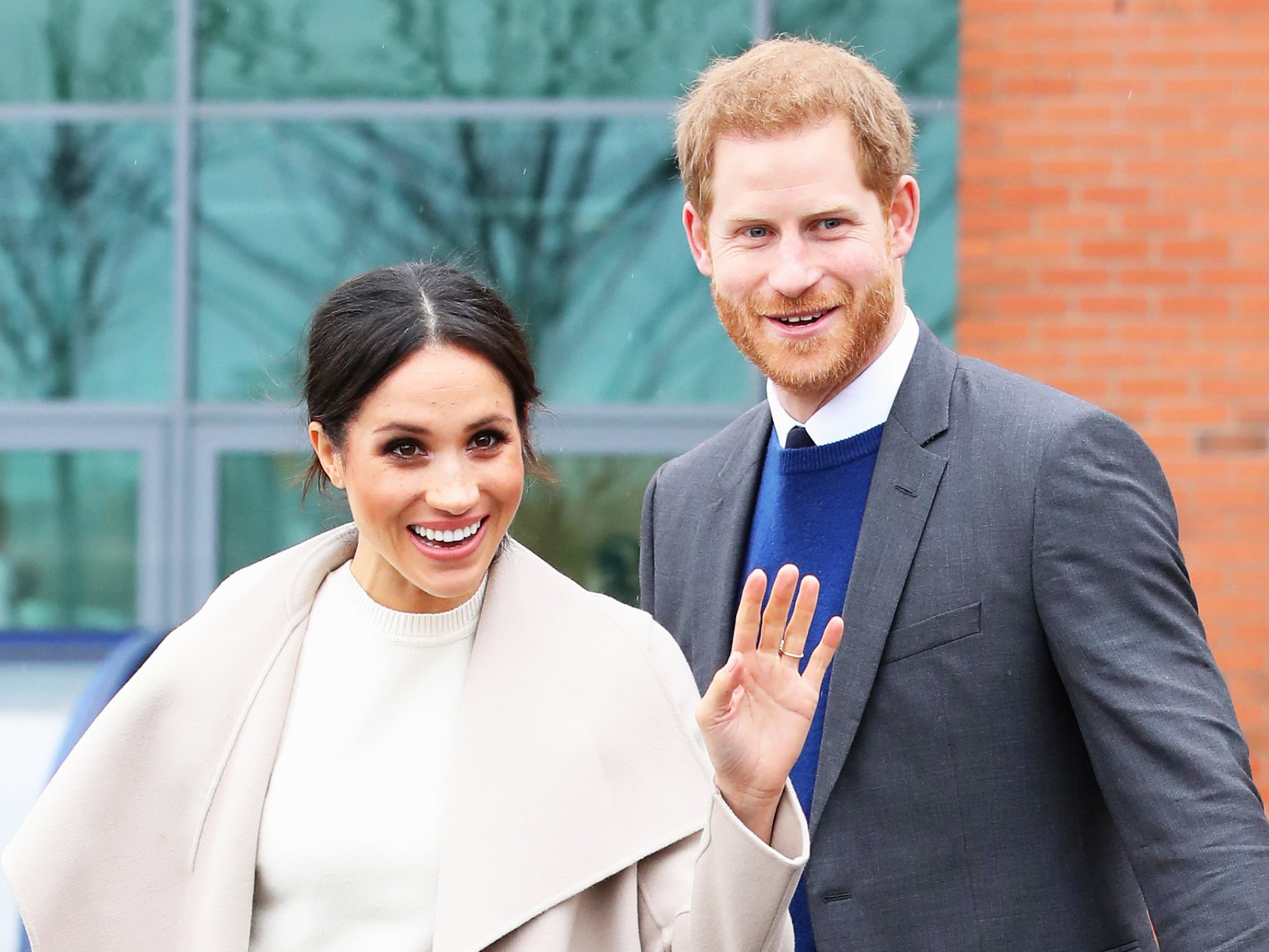 Here's a First Look atMeghan and Harry's Wedding Cake Preparations